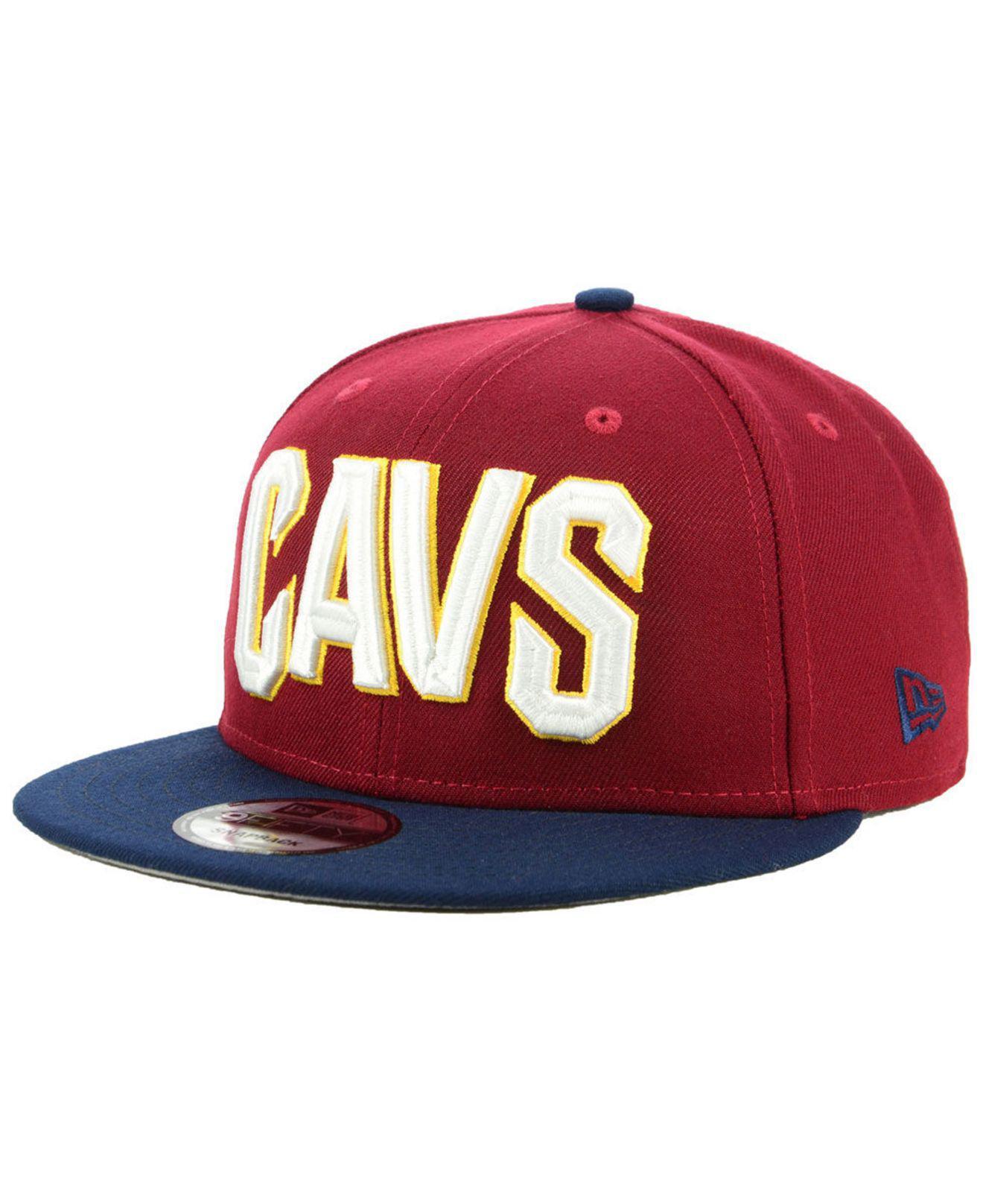 6dba0af318687 Lyst - KTZ Cleveland Cavaliers Basic 2 Tone 9fifty Snapback Cap for Men