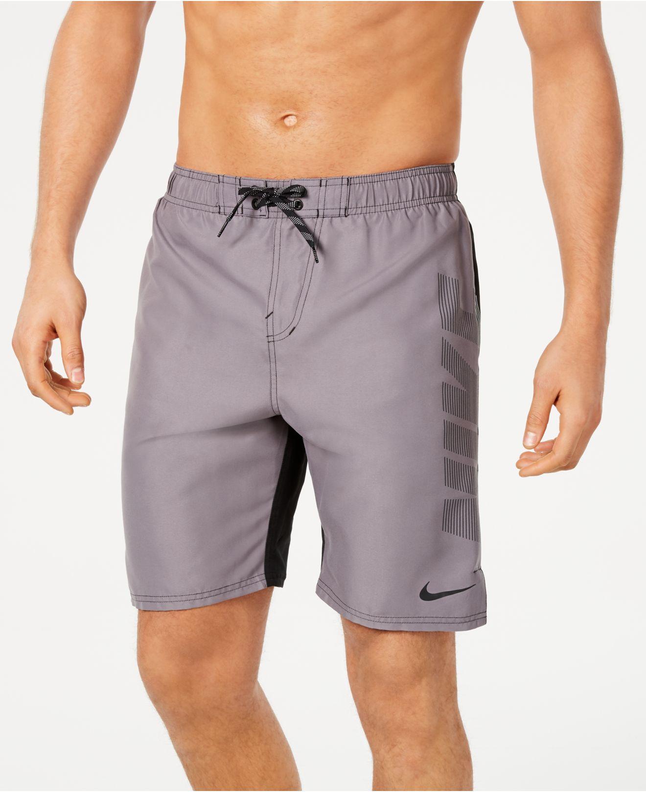 719739338d7ed Lyst nike rift vital regular fit quick dry jpg 1320x1616 Macys nike boy  shorts swimwear