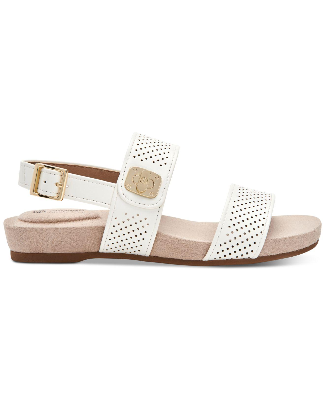 9becfceb494fb Lyst - Giani Bernini Ramonaa Memory Foam Footbed Sandals