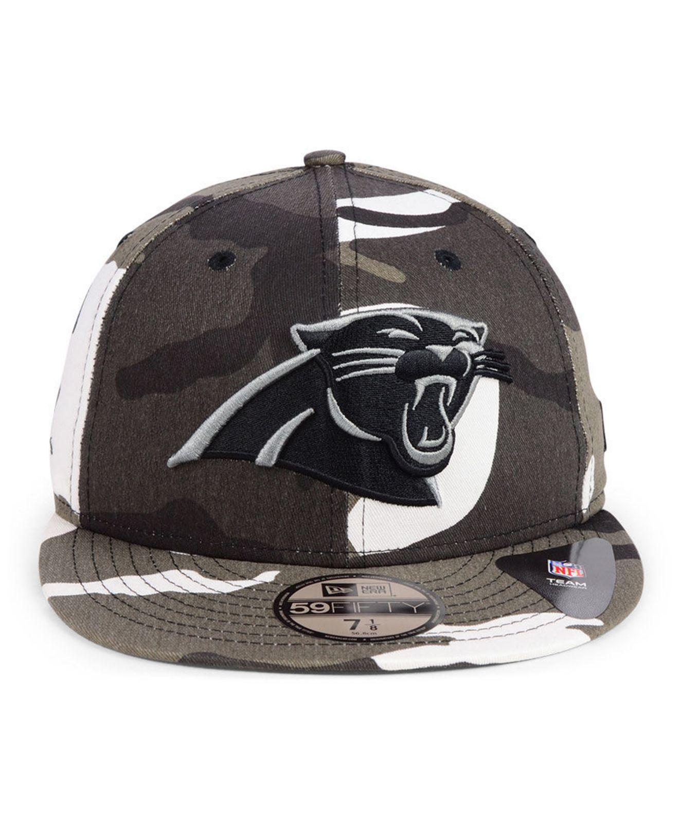 20f472b97fa Lyst - KTZ Carolina Panthers Urban Prism Pack 59fifty-fitted Cap for Men