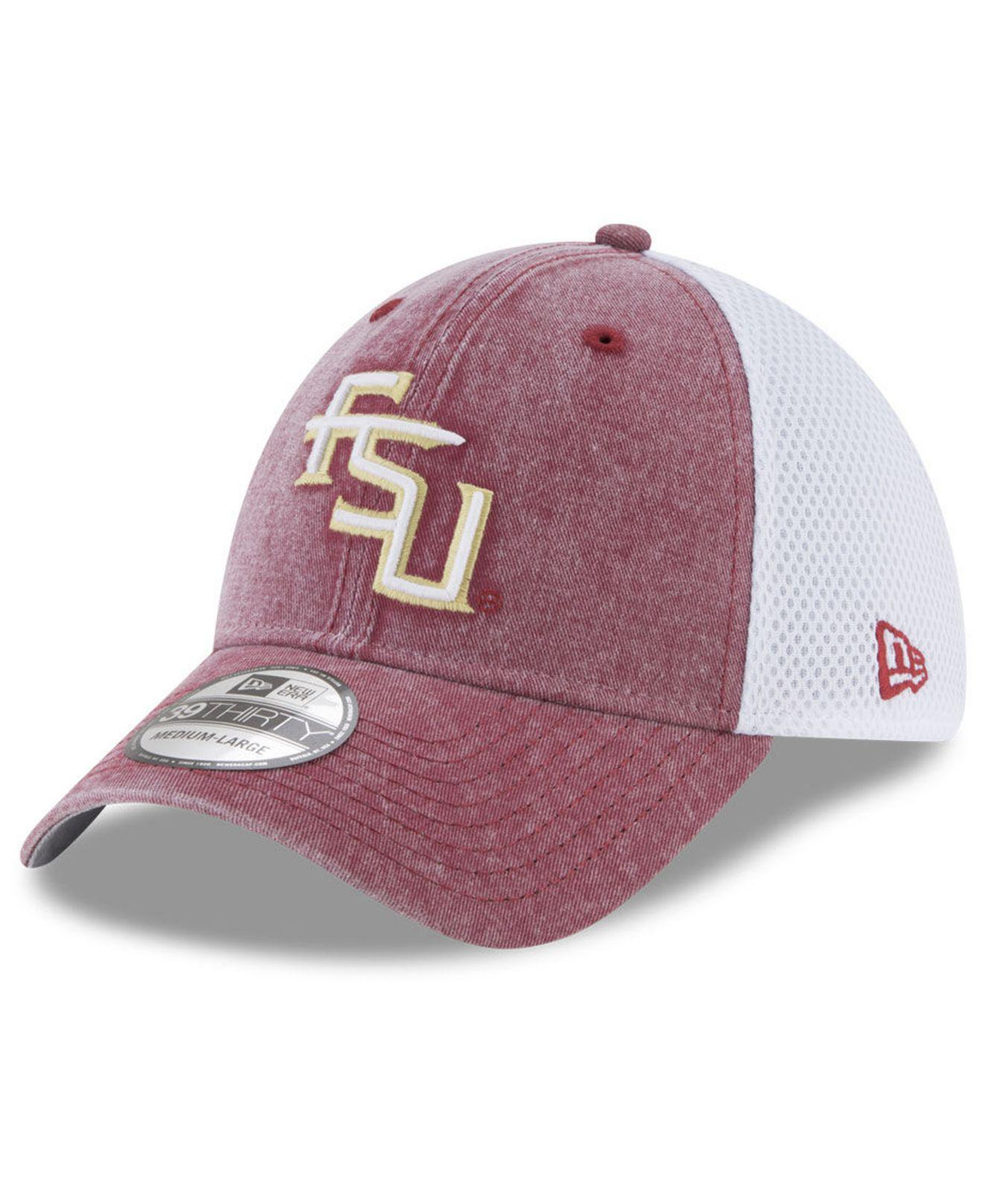 best loved 97e6b fdec0 Lyst - KTZ Florida State Seminoles Washed Neo 39thirty Cap for Men