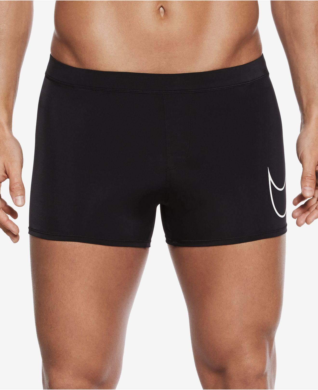 Lyst - Nike Men's Yield Metro Short Swim Trunks in Black for Men
