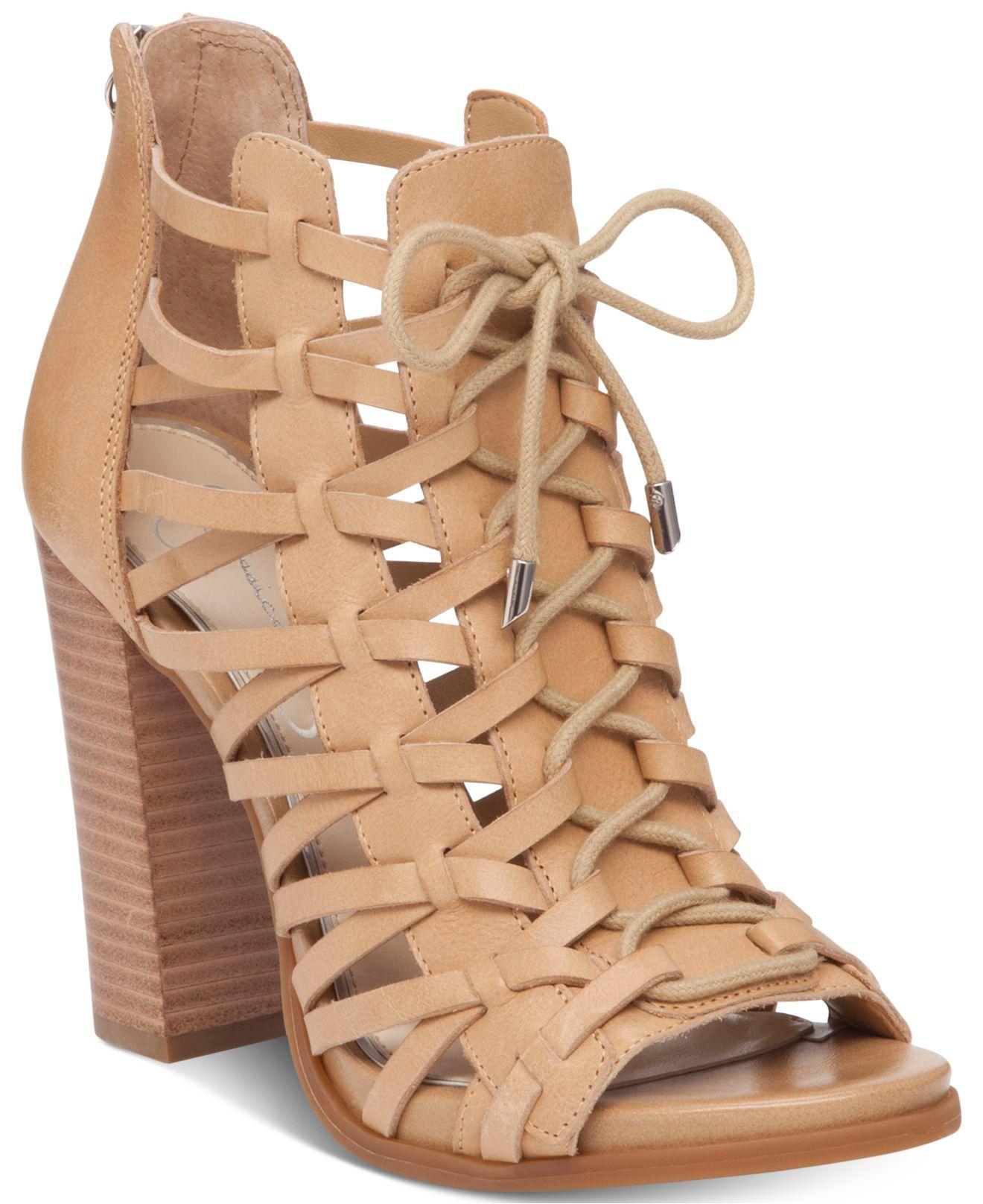 Block Heel Shoes Laces