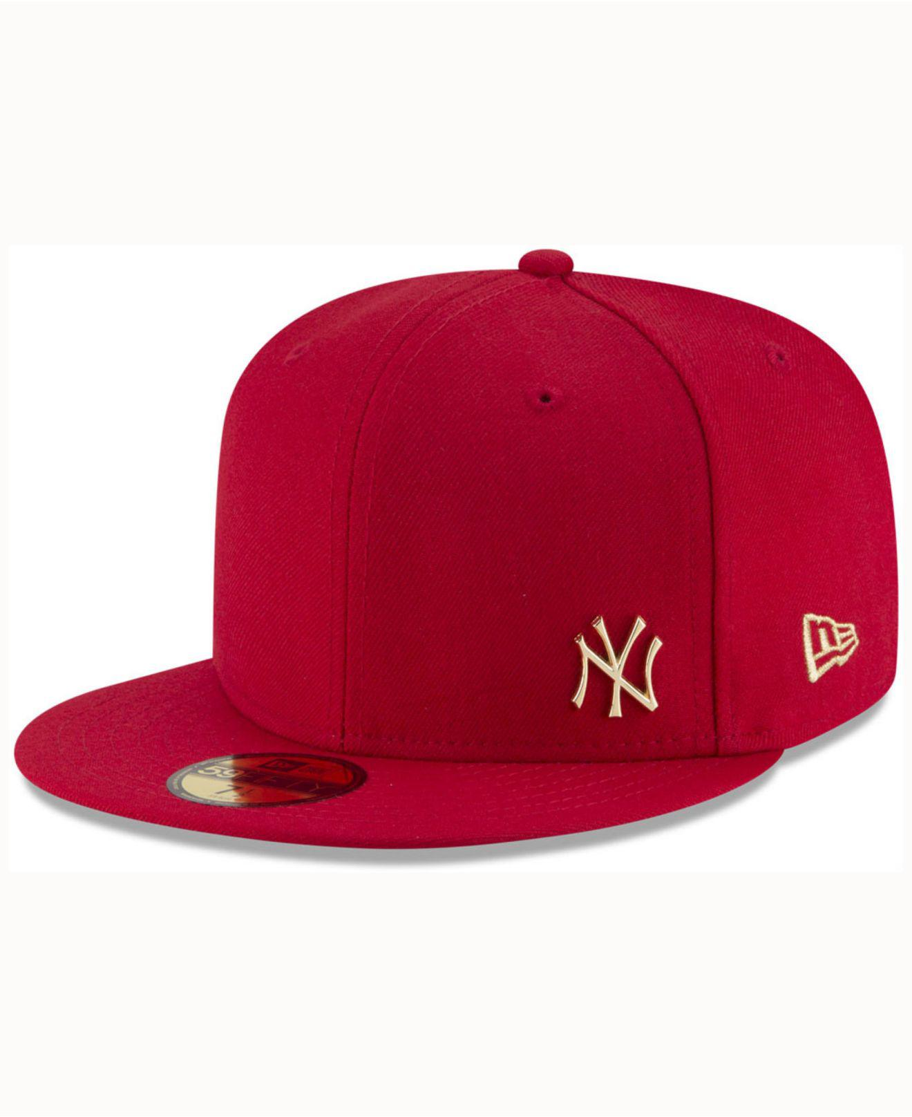 the latest 6b00d 114c7 KTZ New York Yankees Flawless Ogold 59fifty Cap in Red for Men - Lyst