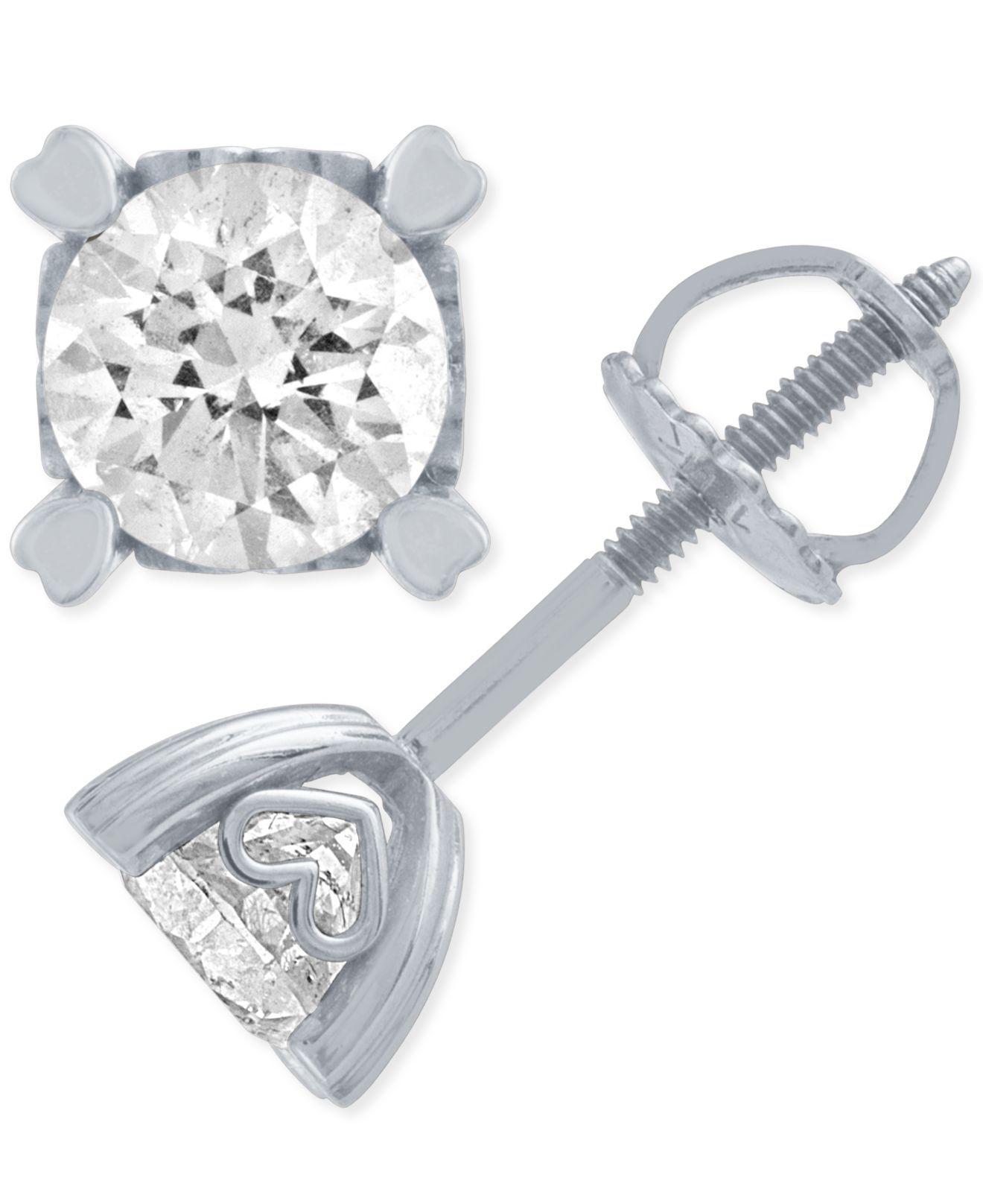 1 Ct Diamond Studs Macys ✓ Diamond Paradise