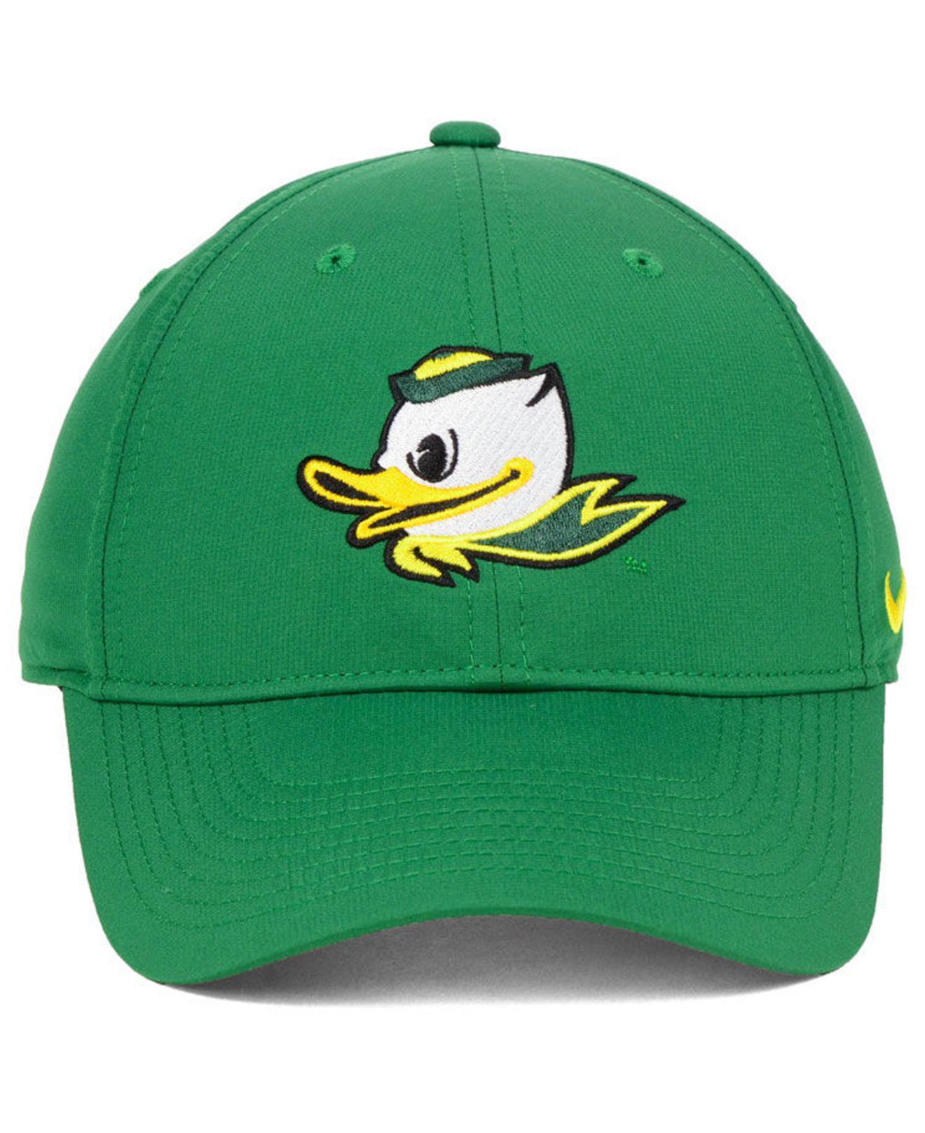 pretty nice f00d2 52358 Nike Oregon Ducks Dri-fit Adjustable Cap in Green for Men - Lyst