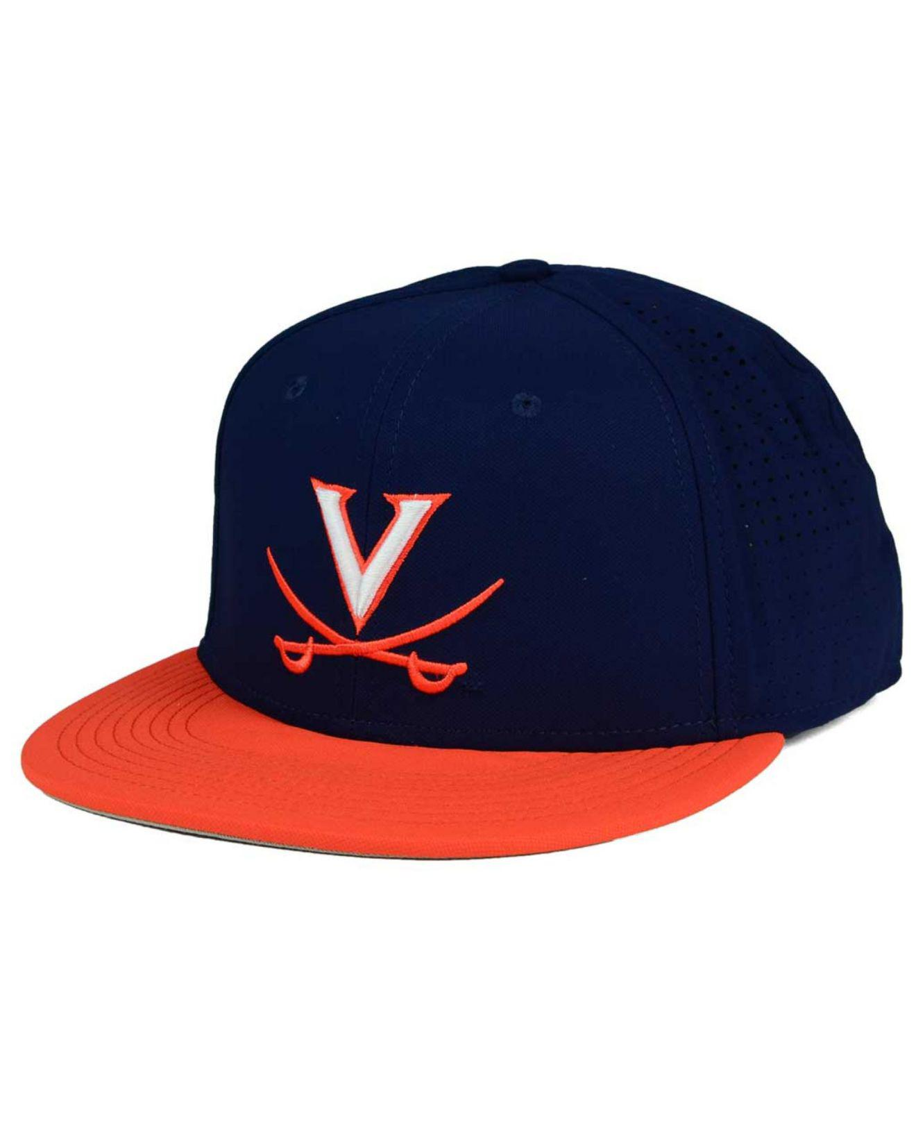 c756e38e7cc4f Lyst - Nike Virginia Cavaliers True Vapor Fitted Cap in Red for Men