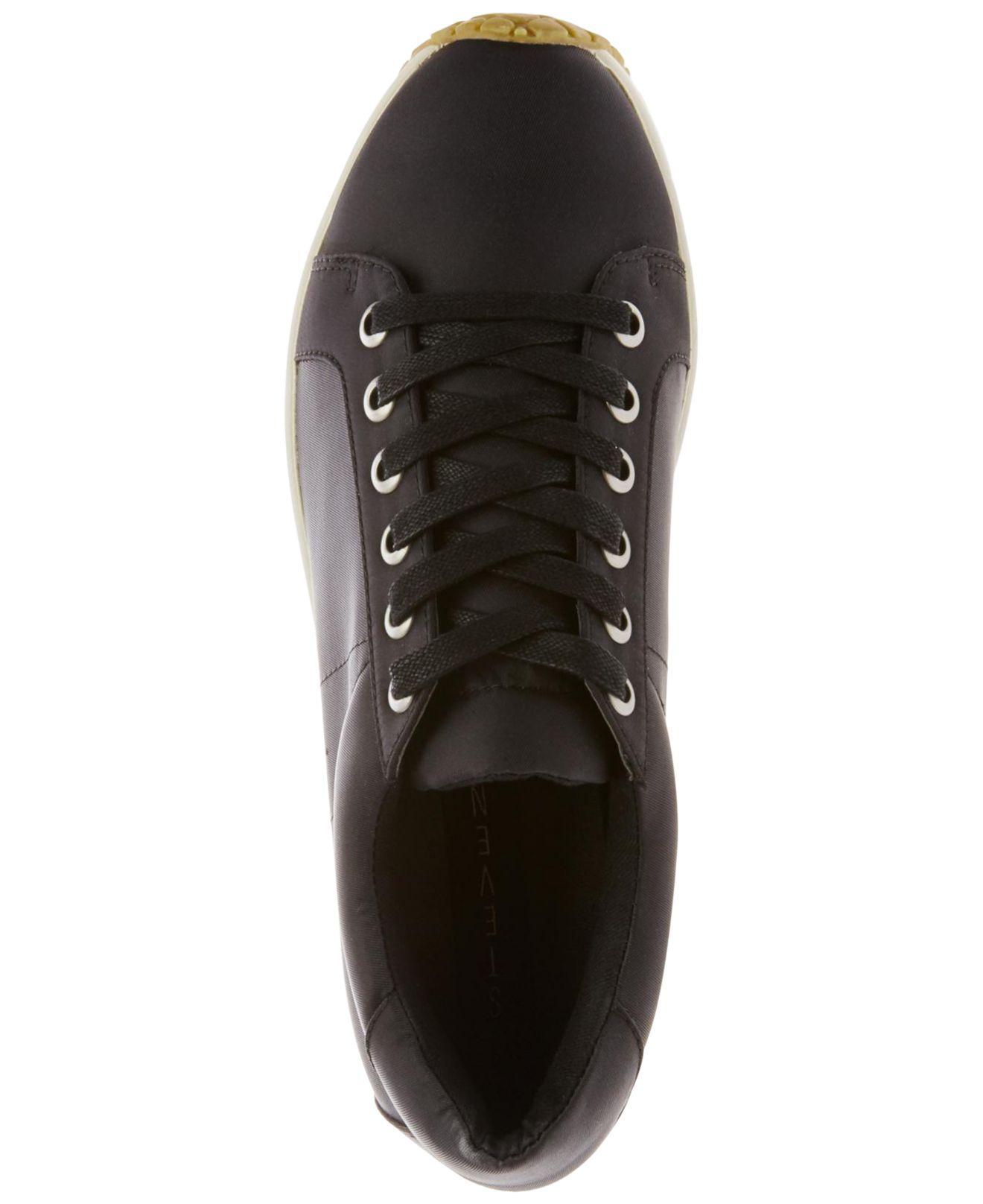 c3088c1befa Lyst - Steven by Steve Madden Women s Barb Platform Sneakers in Black