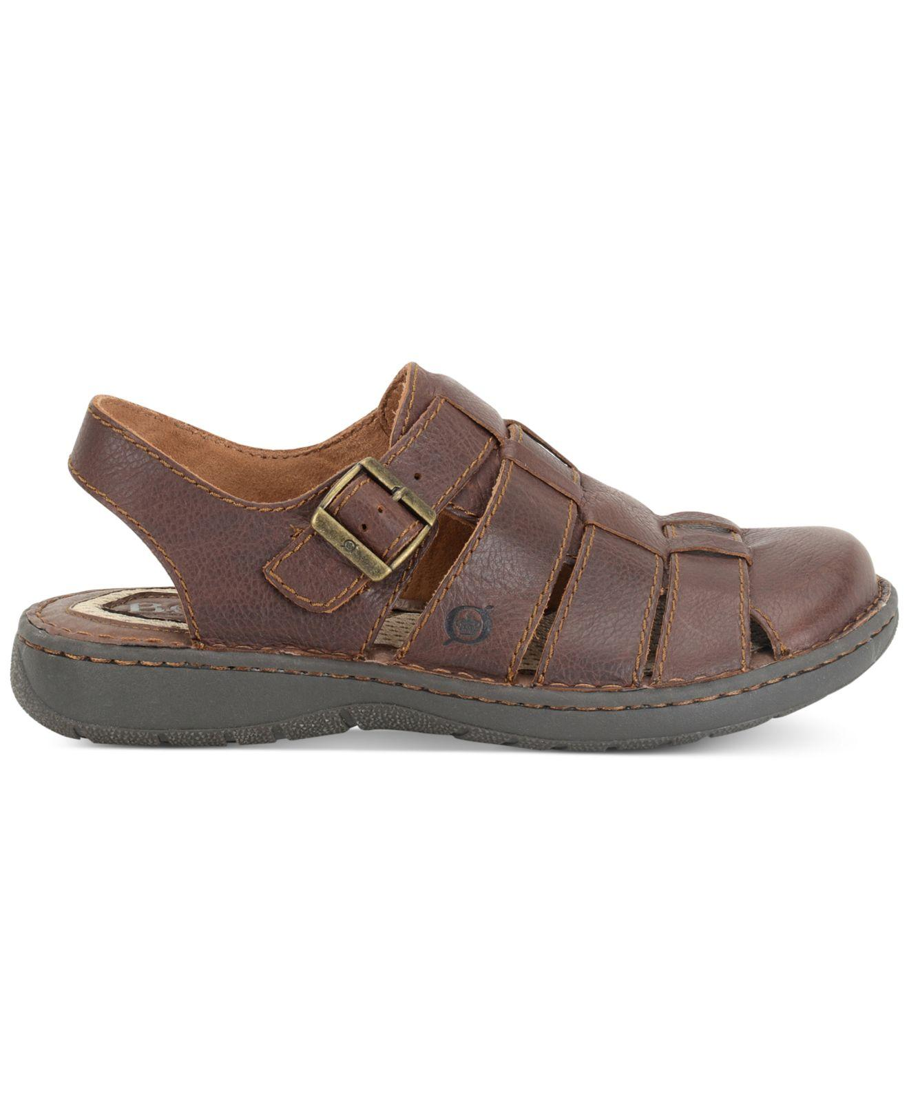 19b099fce Lyst - Born Men s Elbek Sandals in Brown for Men