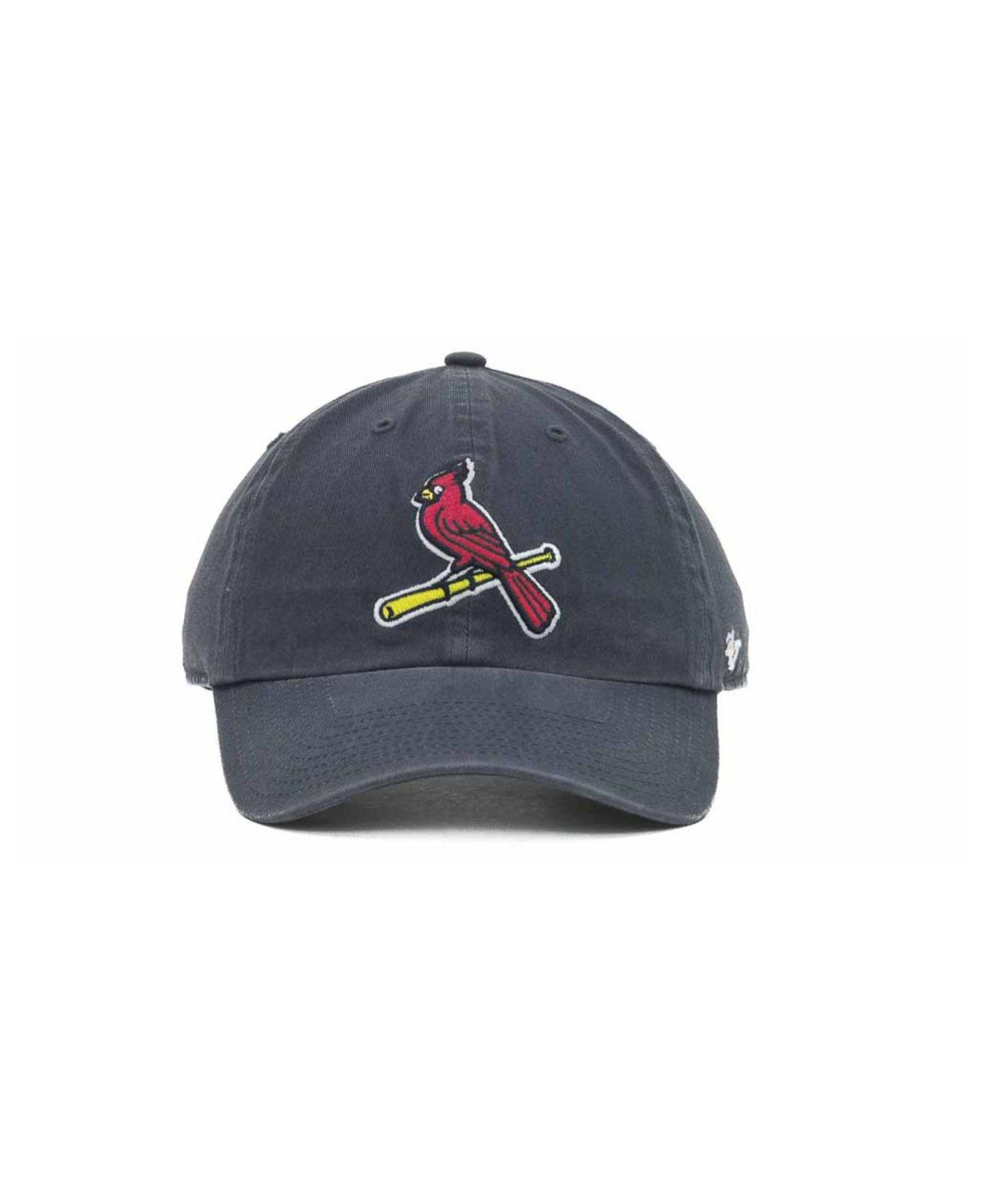 newest 80cd4 5b958 ... canada lyst 47 brand st. louis cardinals clean up hat in blue for men  7d2f6