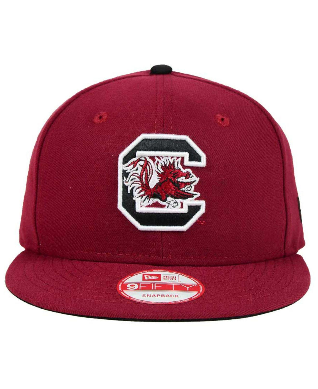 best service 47982 1f3ff Lyst - KTZ South Carolina Gamecocks Core 9fifty Snapback Cap in Purple for  Men
