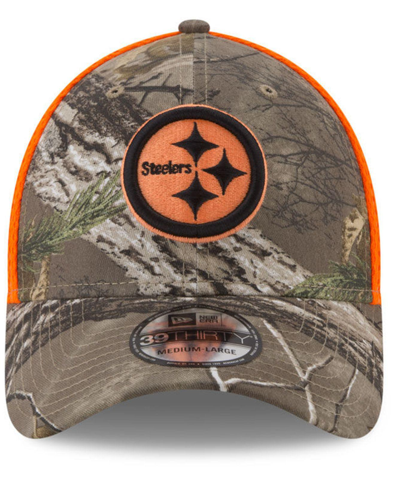 super popular 3a796 604d3 KTZ Pittsburgh Steelers Realtree Hunter Neo 39thirty Cap for Men - Lyst