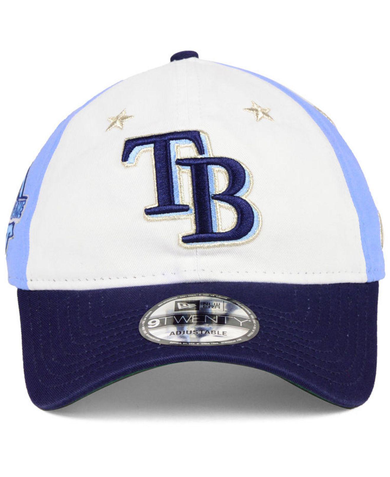 buy online 30457 d1ad6 Lyst - KTZ Tampa Bay Rays All Star Game 9twenty Strapback Cap 2018 in Blue  for Men