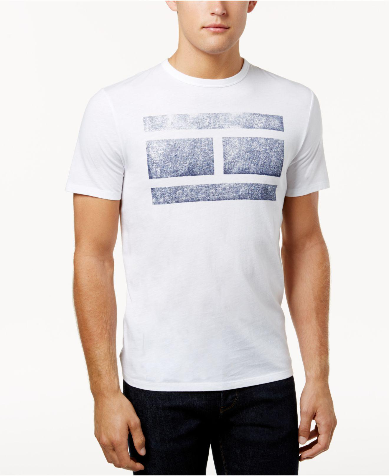ceedaf684b7b40 Tommy Hilfiger - White Men s Virtue Graphic-print T-shirt for Men - Lyst