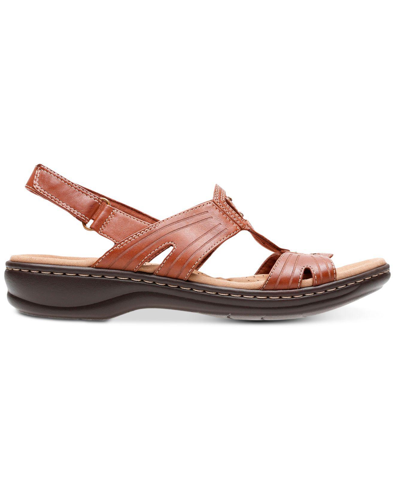 393352e29ae9 Lyst - Clarks Leisa Vine Sandals in Brown