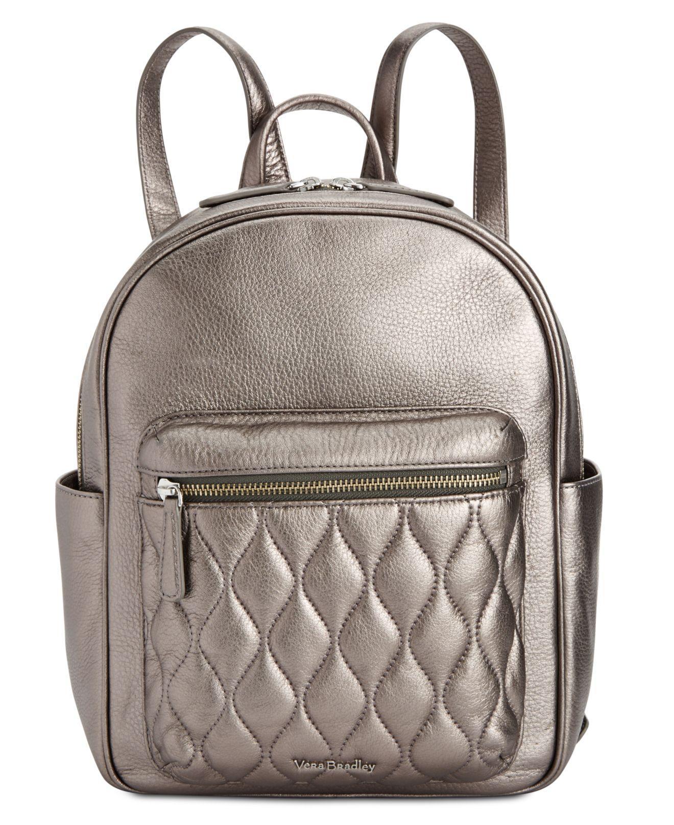 d13189c42cba Lyst - Vera Bradley Leighton Backpack