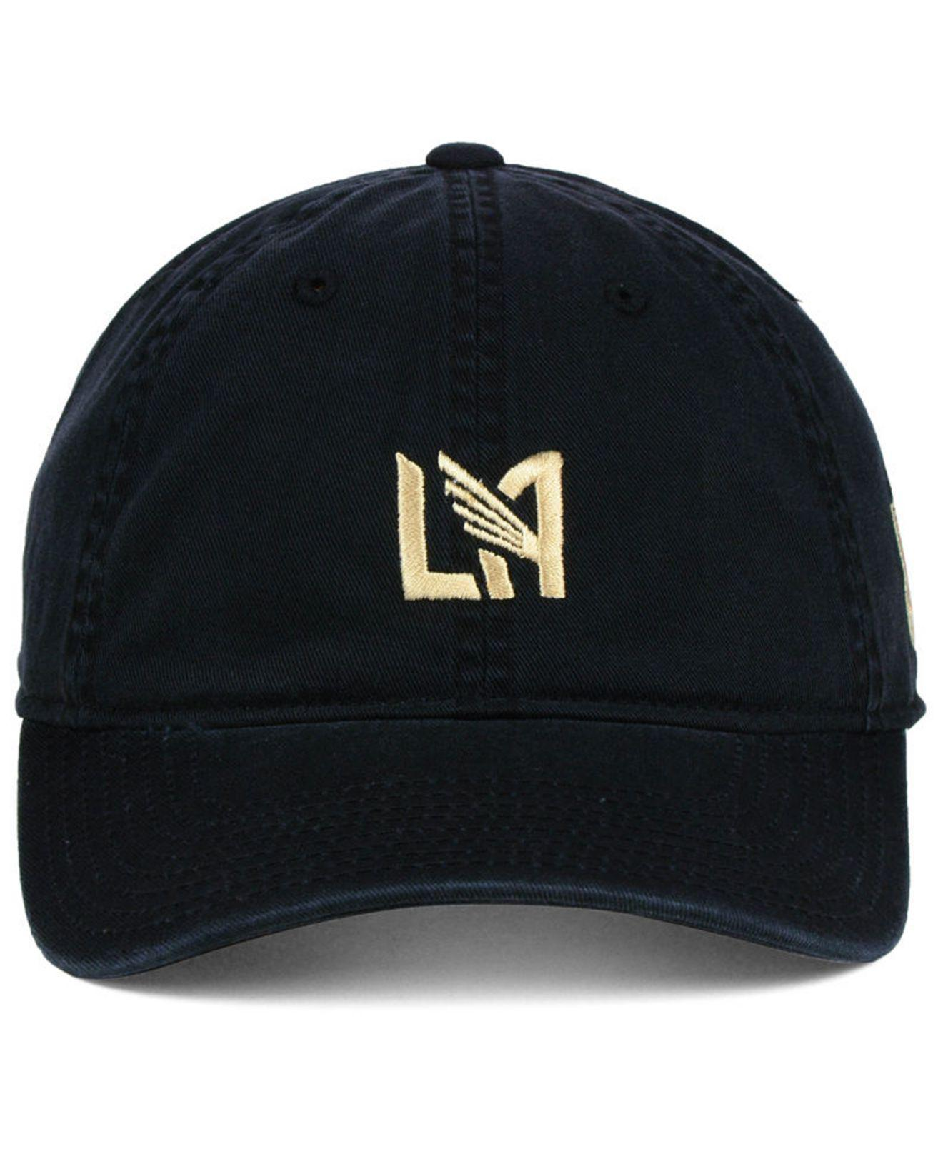best service 6739c d253f adidas Los Angeles Football Club Partial Logo Dad Cap in Black for ...