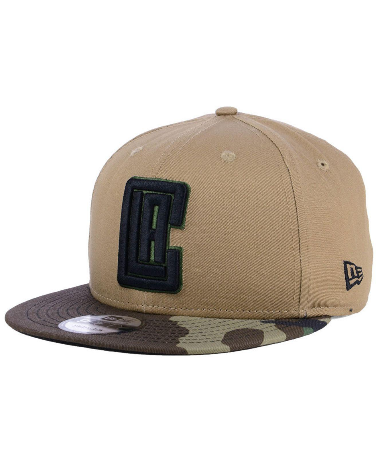 new arrival 244e7 ce238 KTZ. Men s Los Angeles Clippers Camo Tipping 9fifty Snapback Cap
