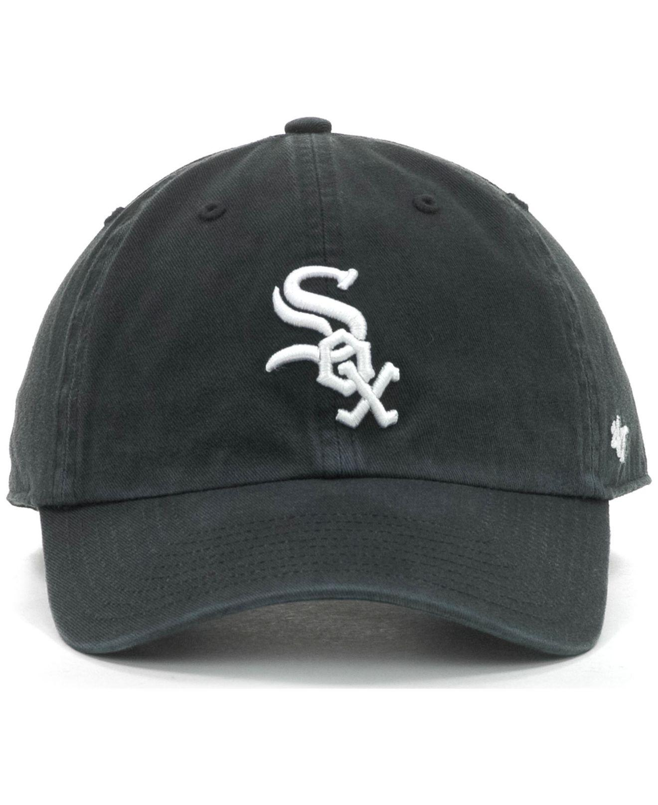 c628d49ac1b3d ... ireland lyst 47 brand chicago white sox clean up hat in black for men  6ce75 d8d9b