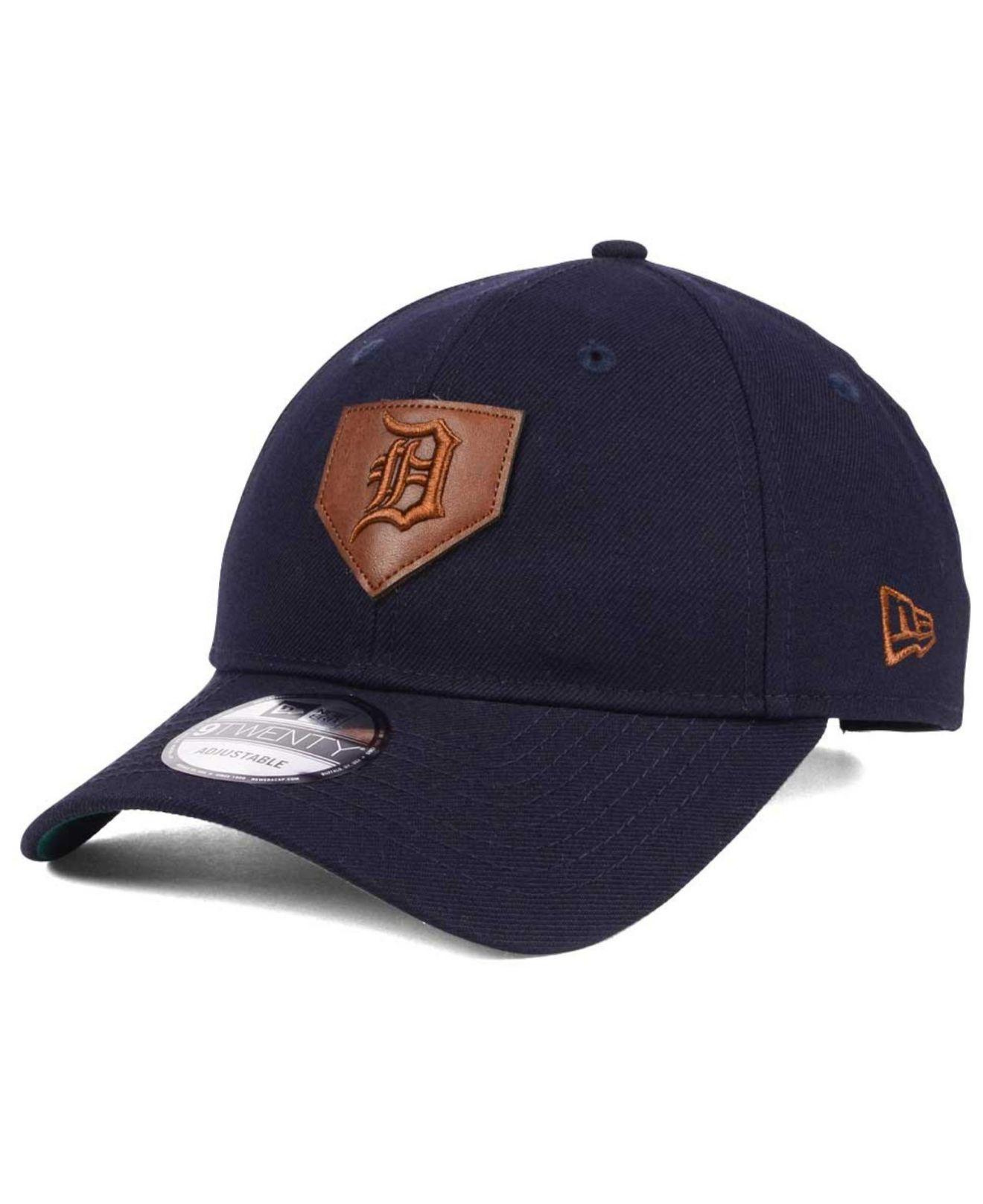 2001eff42d4f ... yankees hat id0218new era cappellini con visierasito di d376e 68fb4   best price lyst ktz the plate 9twenty cap in blue for men 747f6 4c3e5
