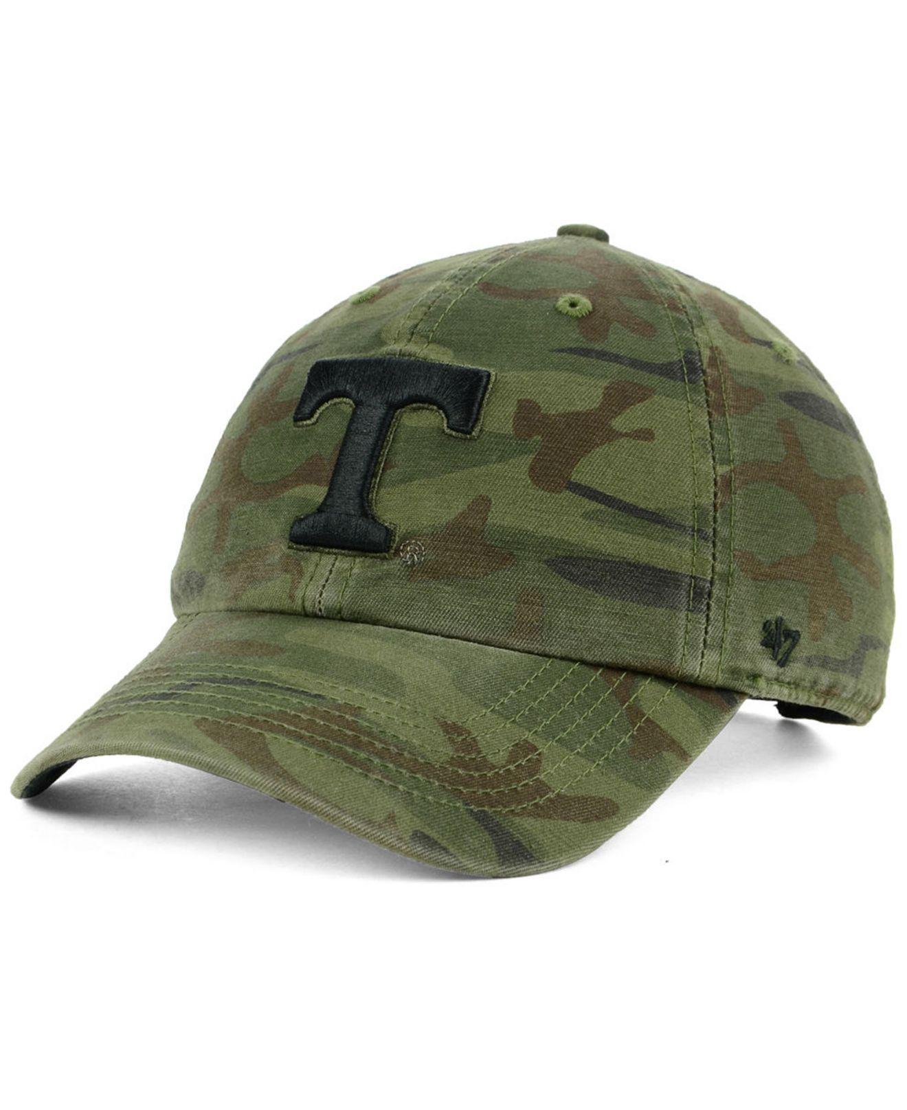 promo code a6778 b2e74 47 Brand. Green Tennessee Volunteers Regiment Clean Up Strapback Cap