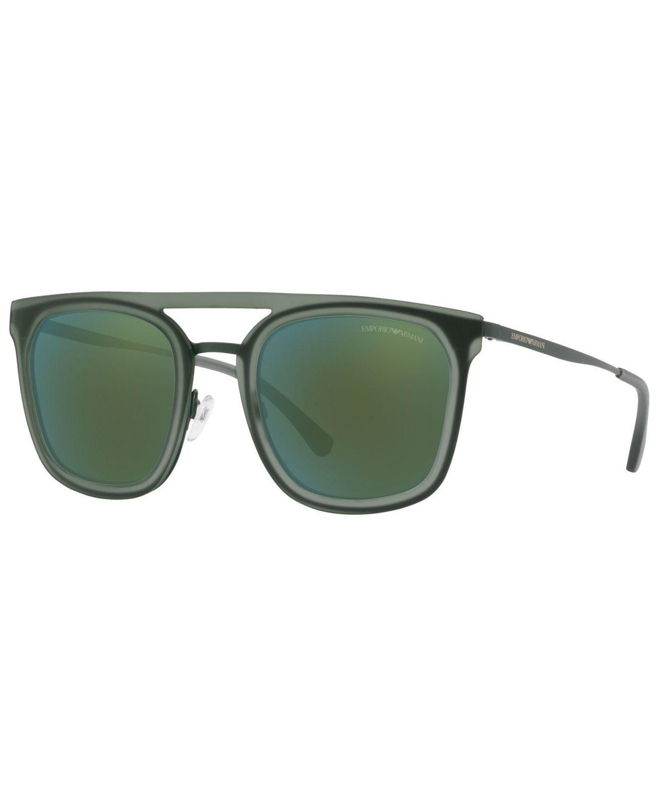 a2717cdc8235 Lyst - Emporio Armani Sunglasses, Ea2062 54 in Green for Men - Save ...
