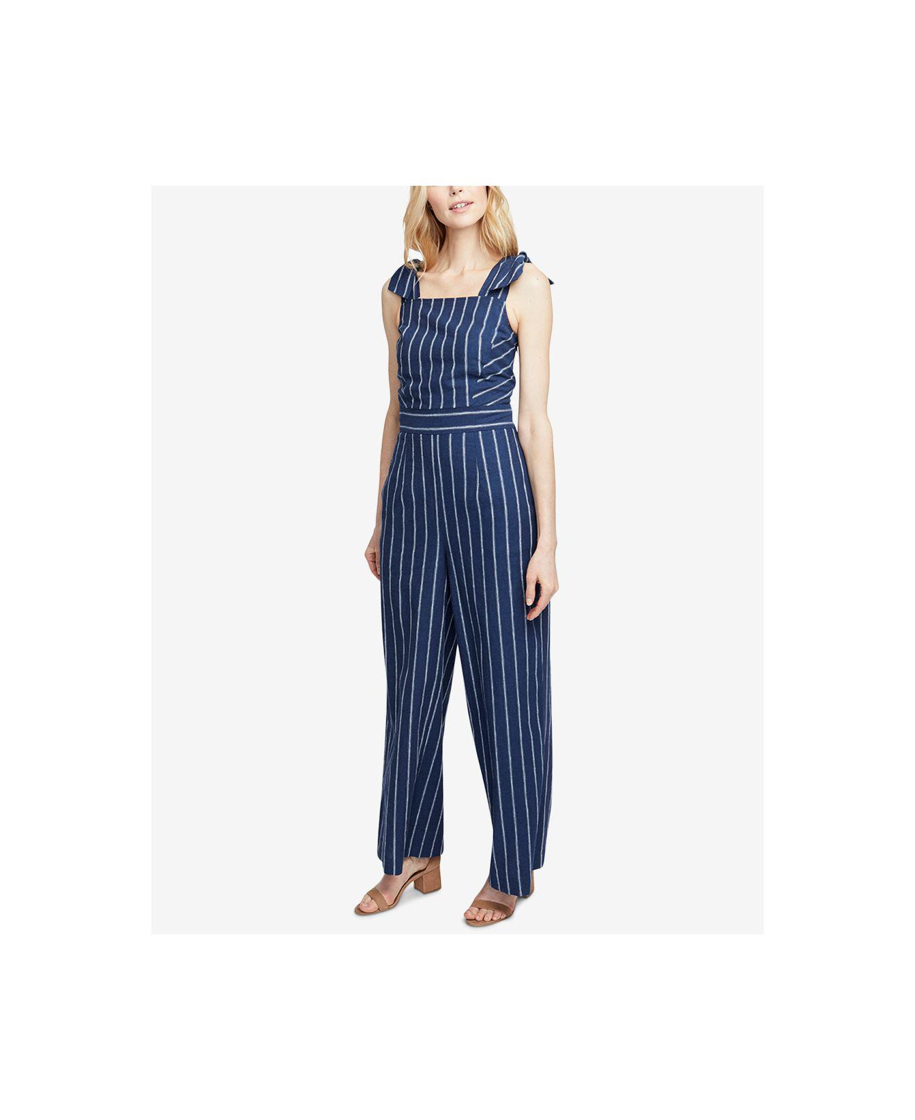 981feab16351 Lyst - RACHEL Rachel Roy Kate Striped Jumpsuit