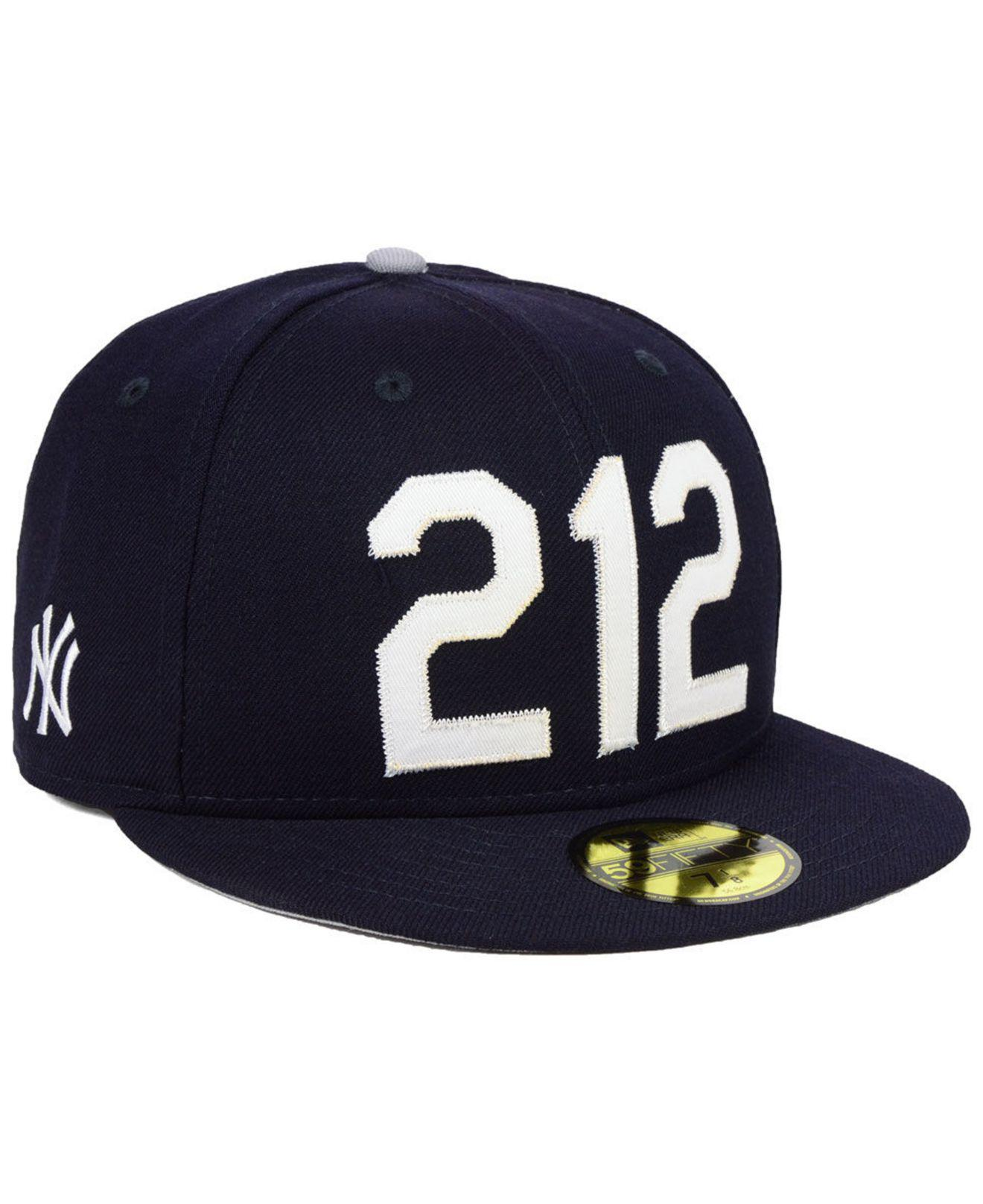 the best attitude 060a9 fff01 KTZ New York Yankees Area Code 59fifty Fitted Cap in Blue for Men - Lyst