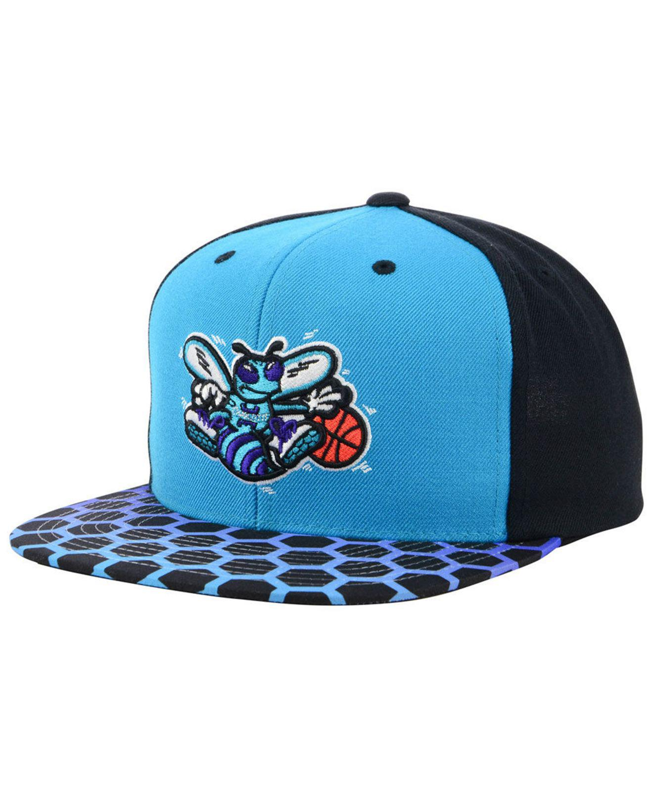 on sale 92ac8 fc81c ... solid team colour sb charlotte hornets teal click to zoom 40b54 ea17d  buy mitchell ness. mens blue charlotte hornets winning team snapback cap  5793d ...
