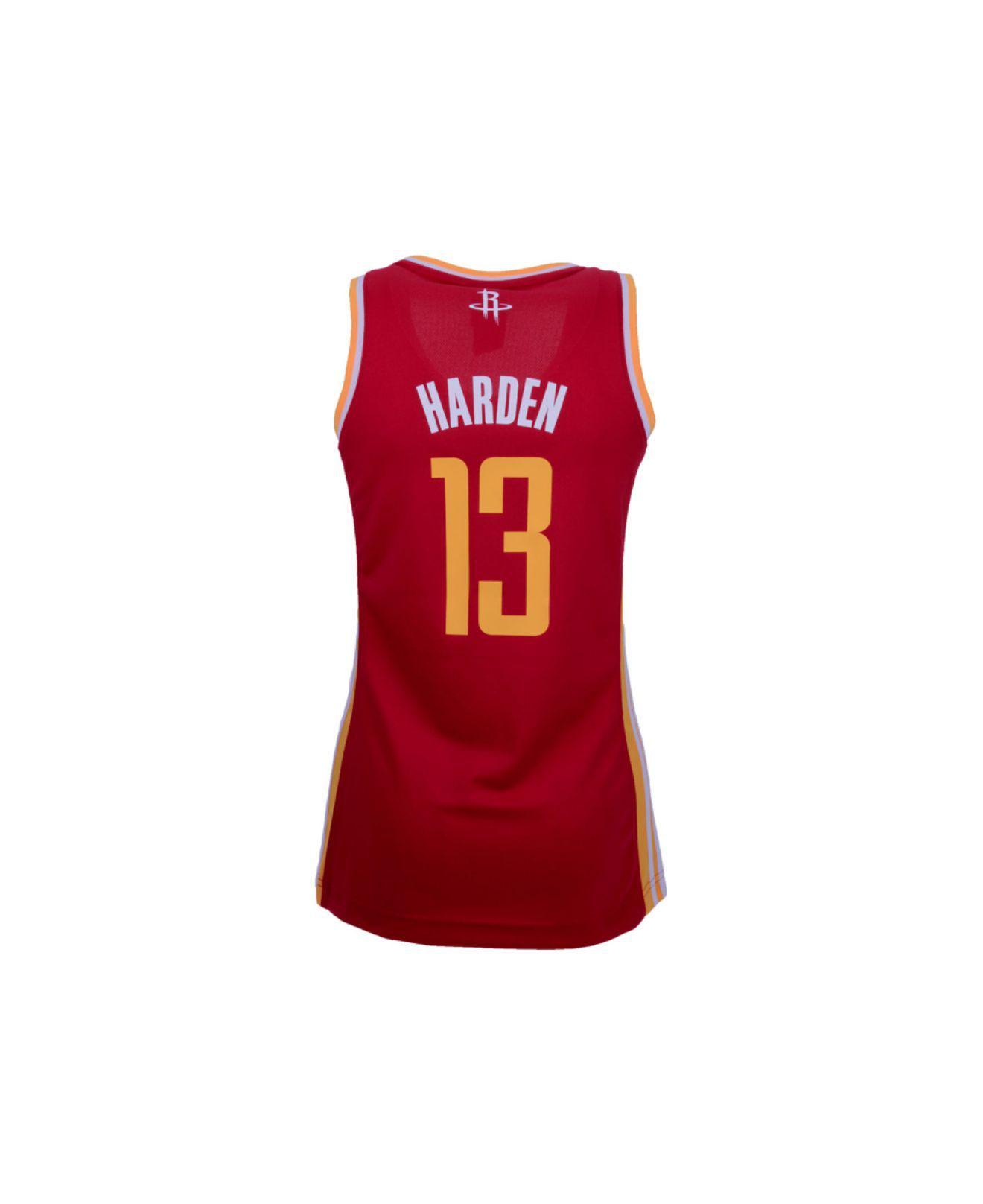 Lyst - adidas Originals Women s Houston Rockets James Harden Replica ... 1e7b5b57c