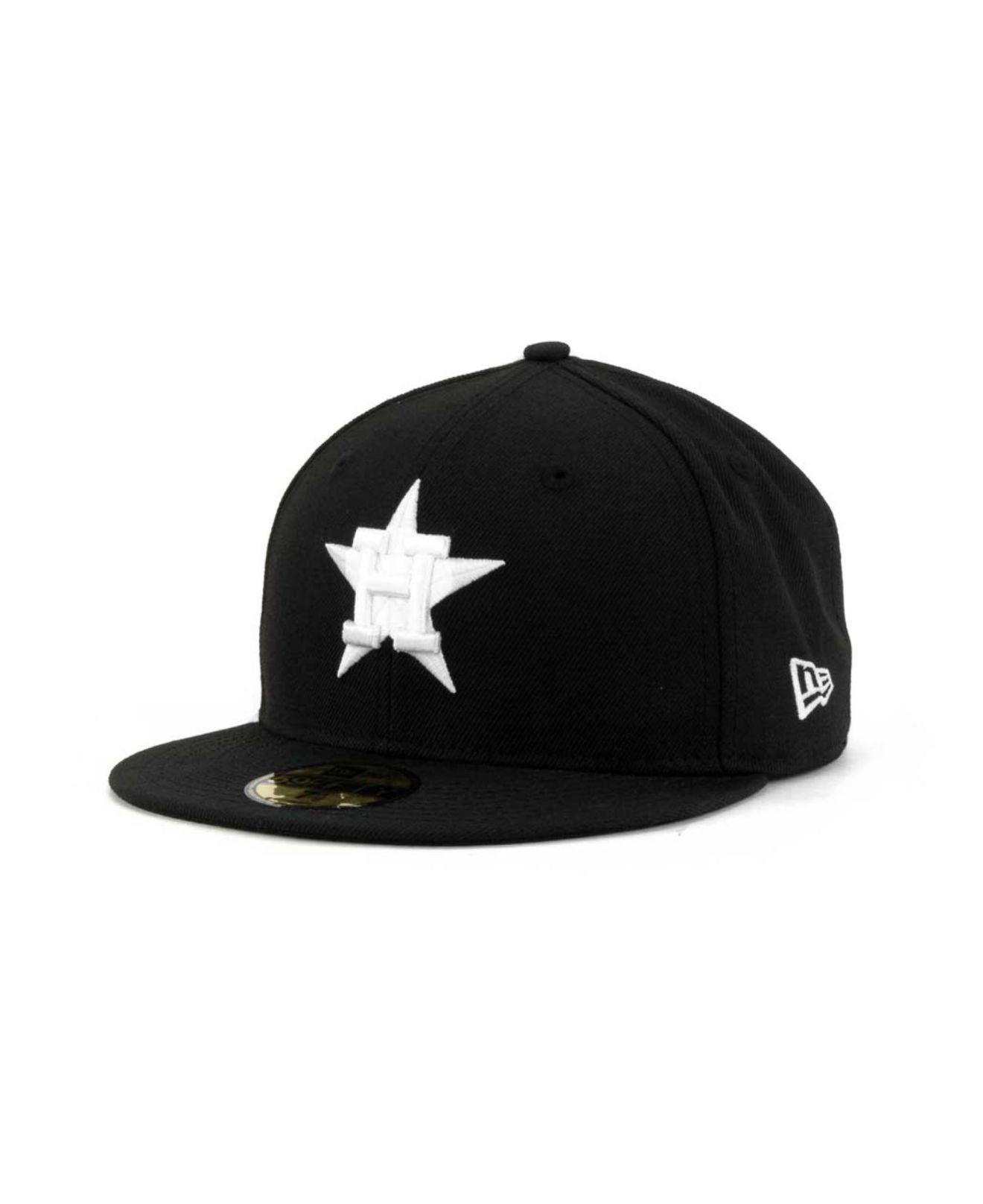 online retailer 8bf9d d6c0a KTZ. Men s Black Houston Astros Mlb B-dub 59fifty Cap