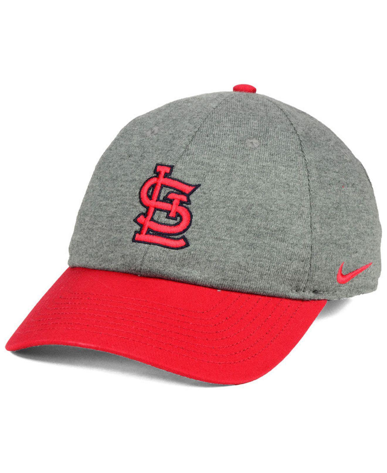 51533a470a5 Lyst - Nike St. Louis Cardinals 2 Tone Heather Cap for Men