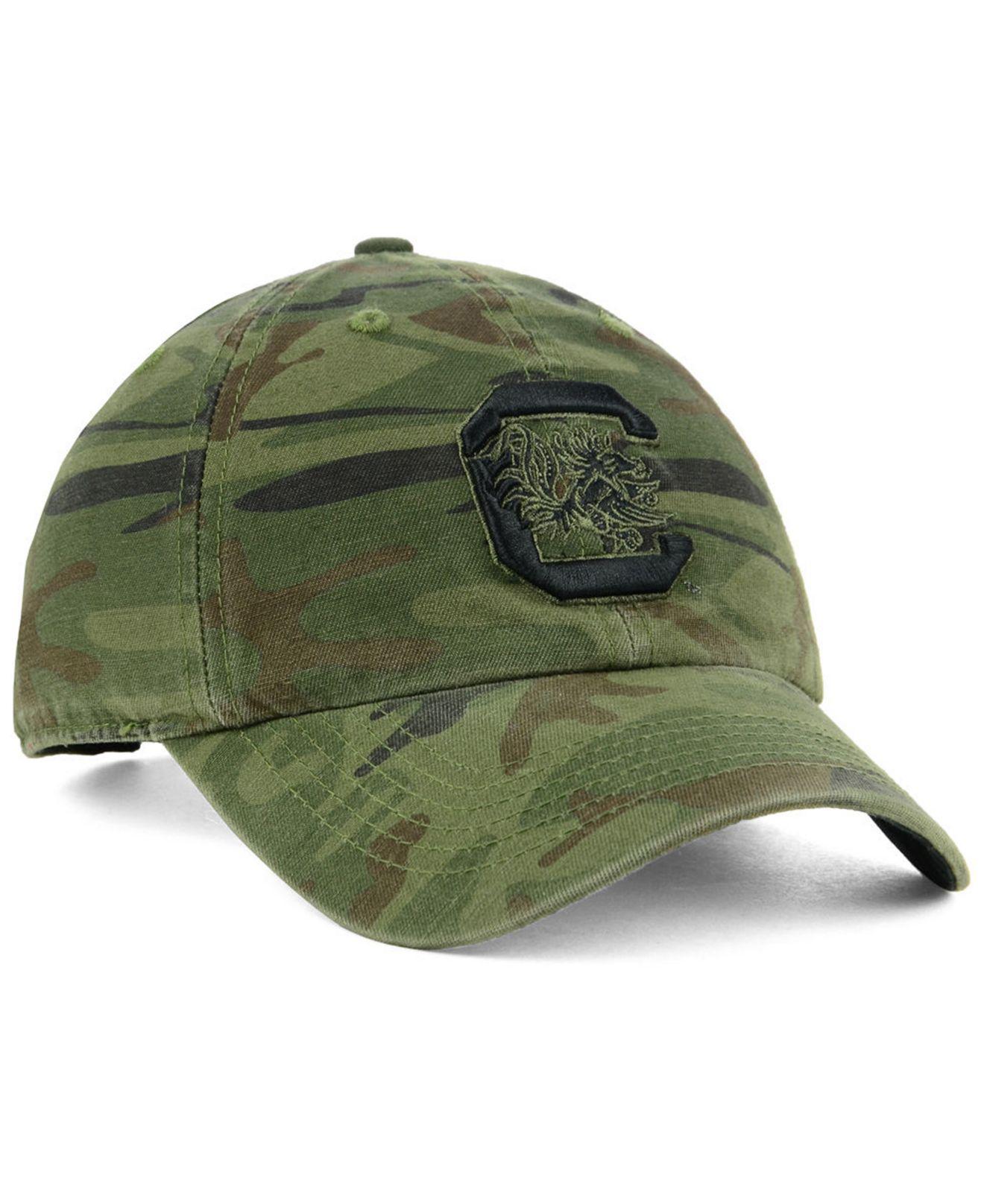 best service b0ee7 6e9db ... wholesale 47 brand green south carolina gamecocks regiment clean up  strapback cap for men lyst.