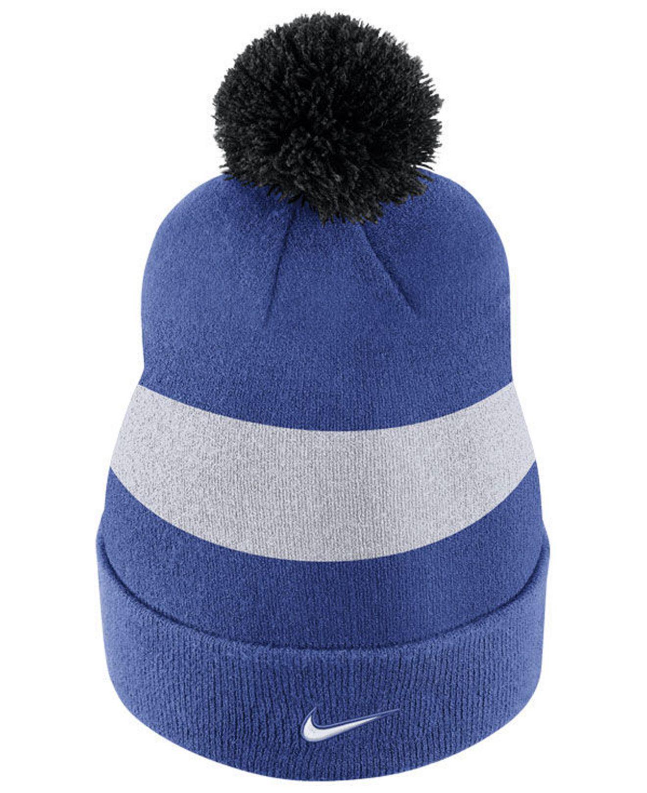 95fb9f18d78 Lyst - Nike Duke Blue Devils Sideline Knit Hat in Blue