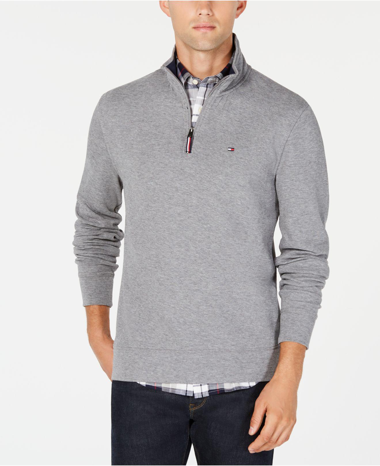 337275201 Lyst - Tommy Hilfiger Winston Mock-neck Sweater