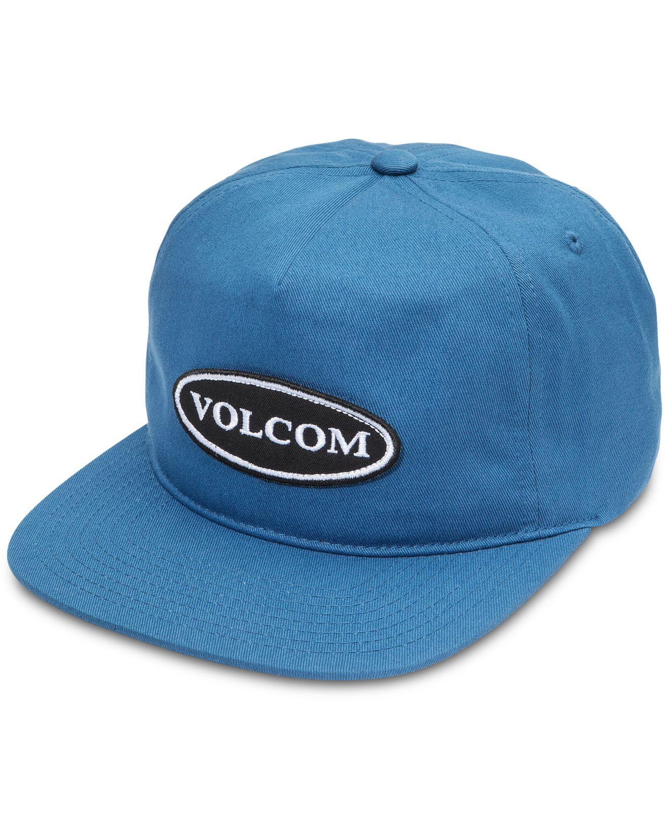 ff9af449479 Volcom - Blue Hard Core In 94 Snapback Hat for Men - Lyst. View fullscreen