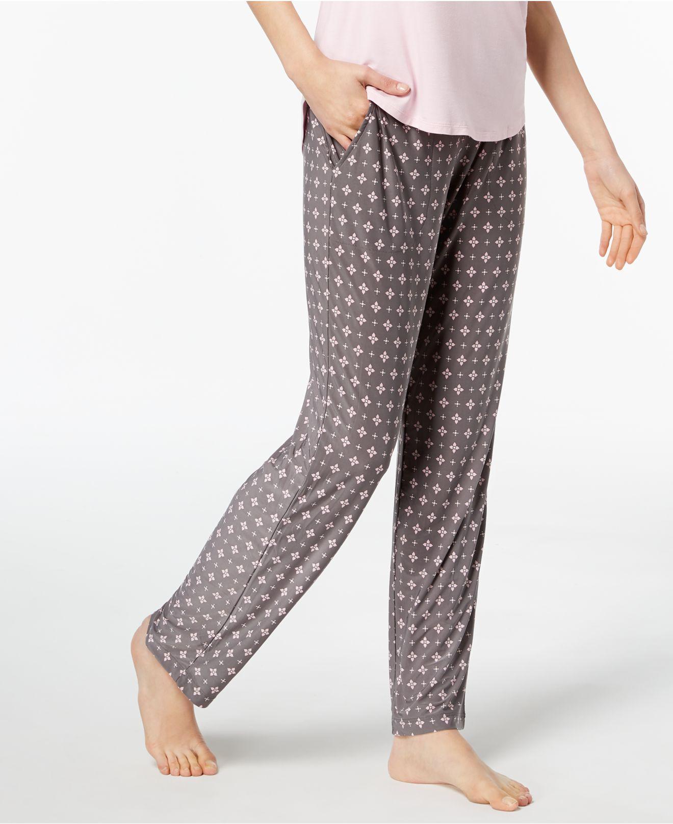 1b71e140748e Alfani Geometric-print Pajama Pants, Created For Macy's in Gray - Lyst