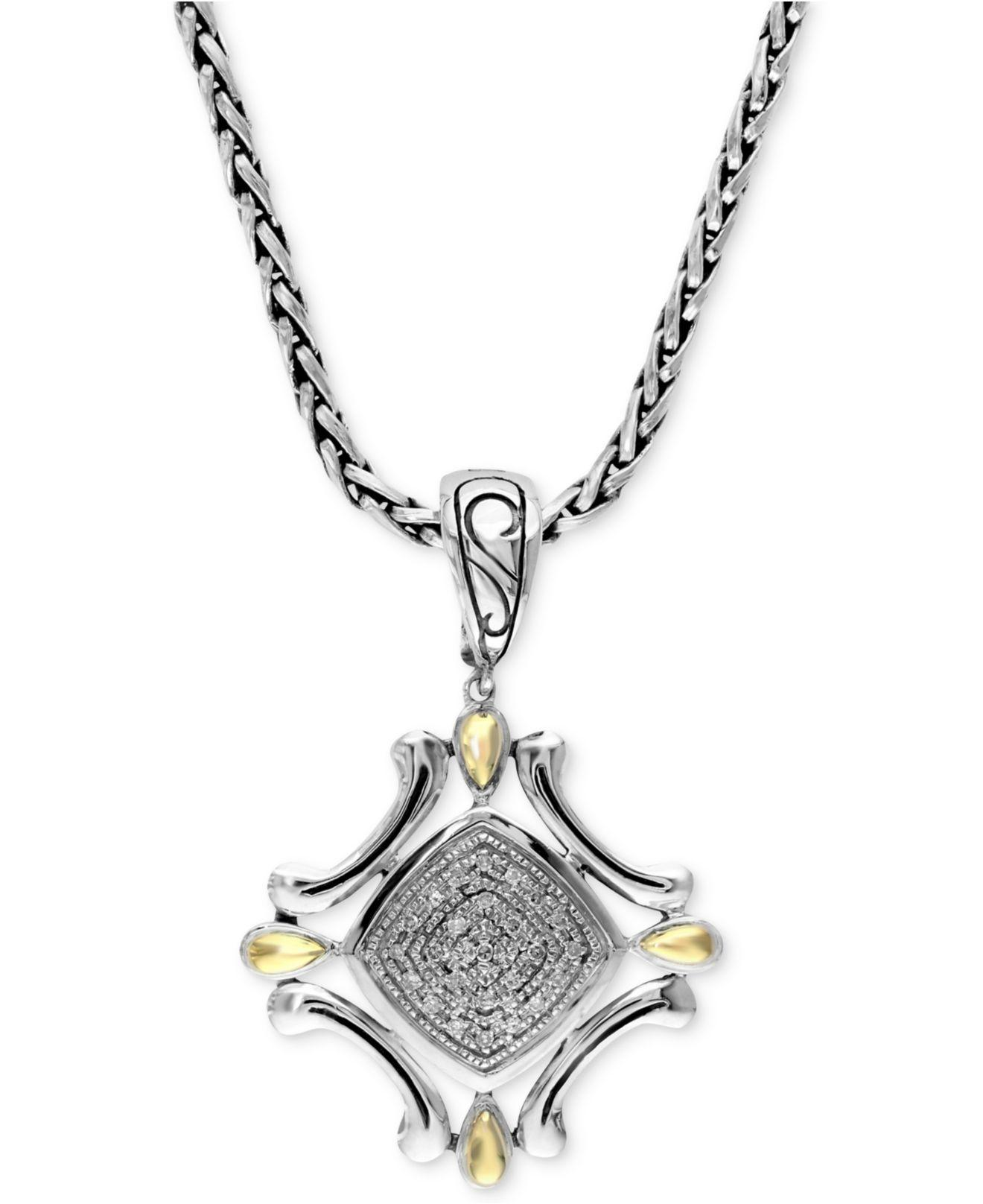 necklaces pendant type necklace oliver diamond products cf effy jewellery cross vendor