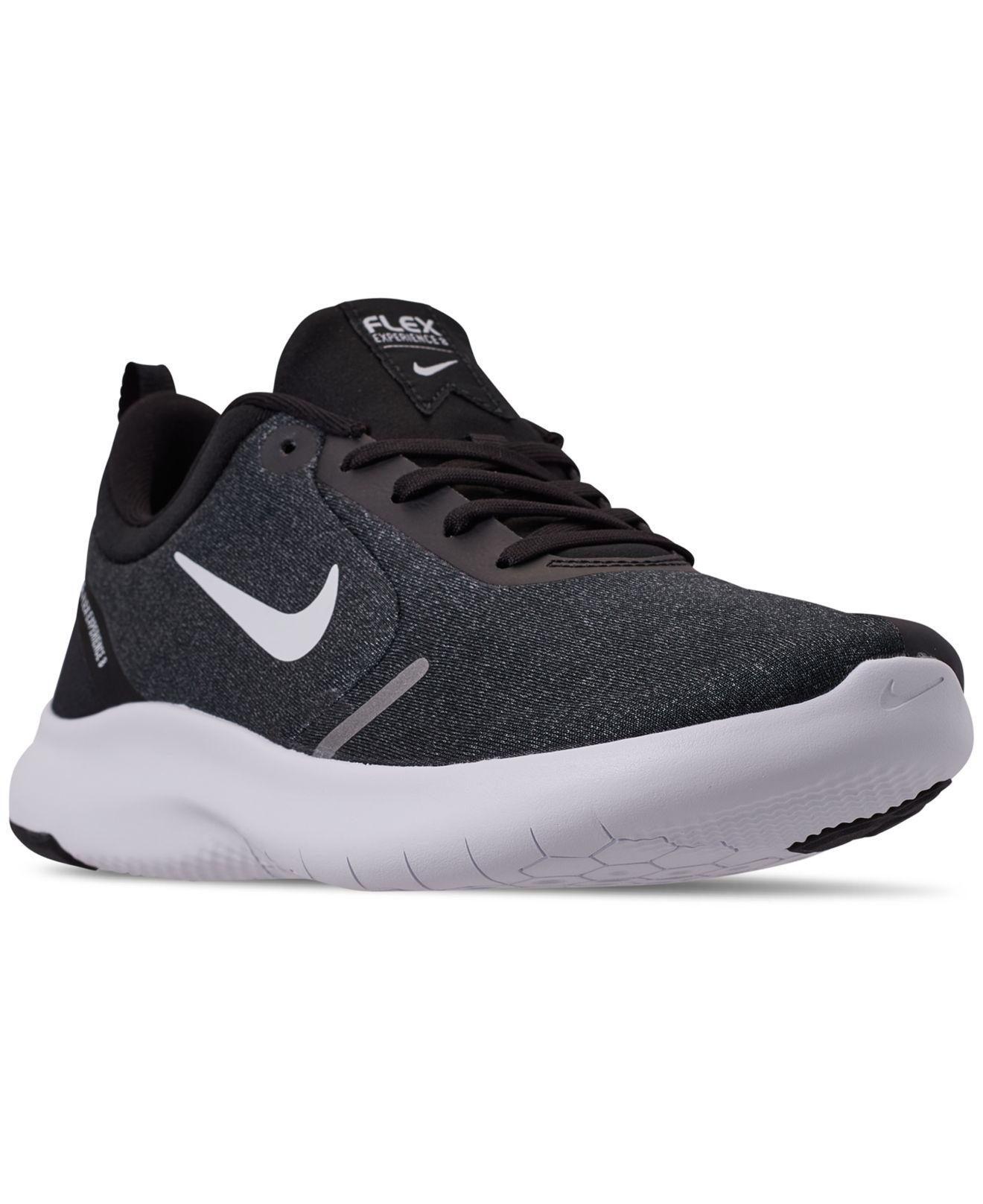 finest selection 32612 9cdcf Nike. Men s Black Flex Experience Rn 8 Extra Wide Width Running Sneakers  From Finish Line