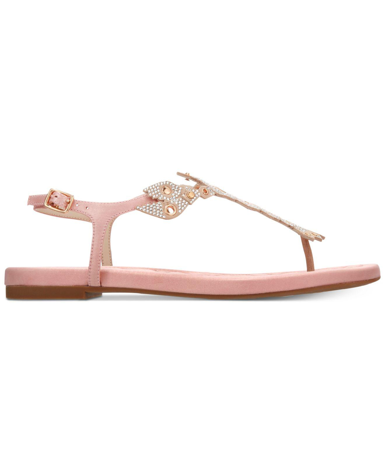 3248ea78f90 Lyst - Cole Haan Pinch Lobster Sandals in Pink