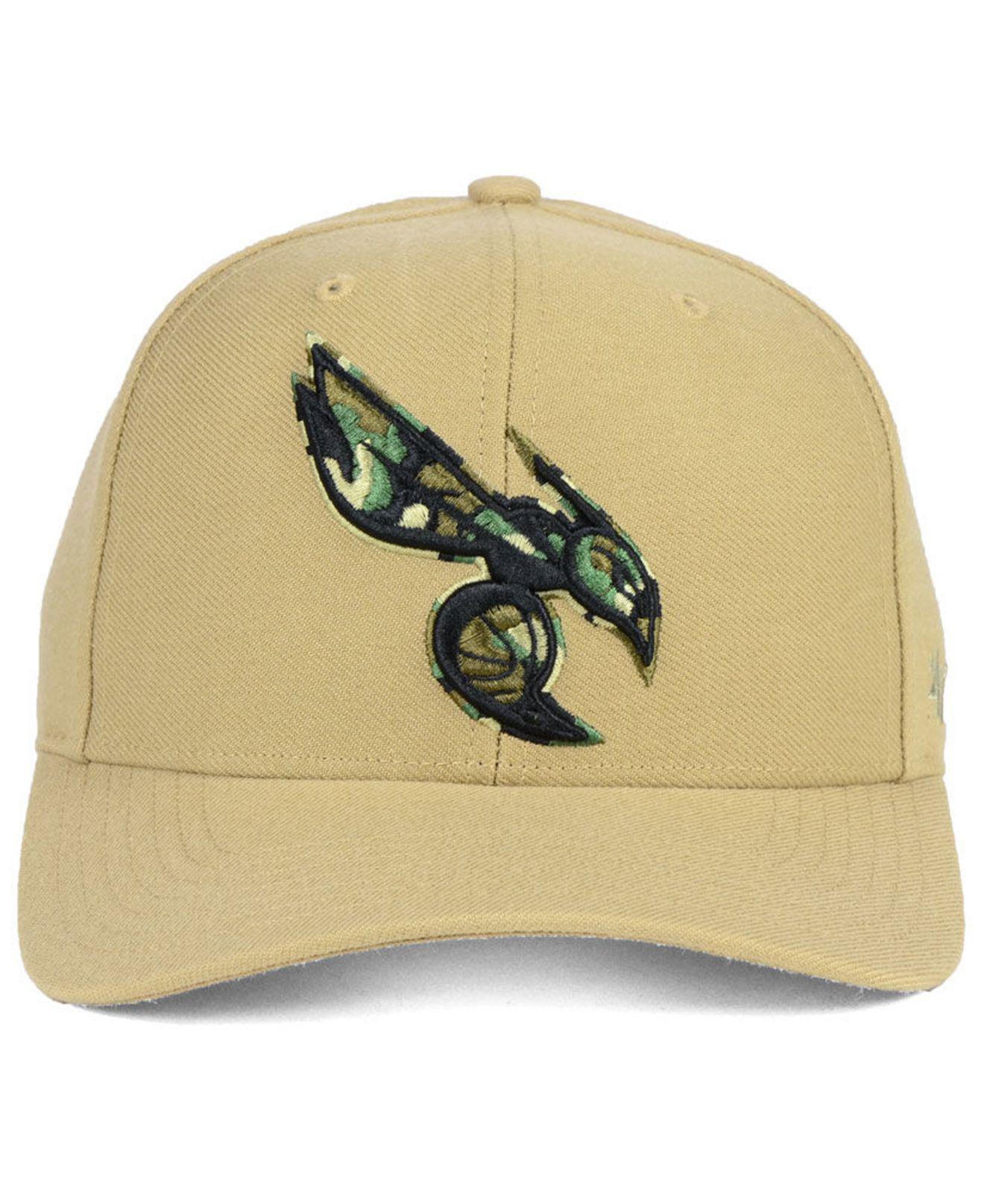 new product c2b15 65132 ... where to buy lyst 47 brand charlotte hornets camfill mvp cap for men  8285f 57f9b