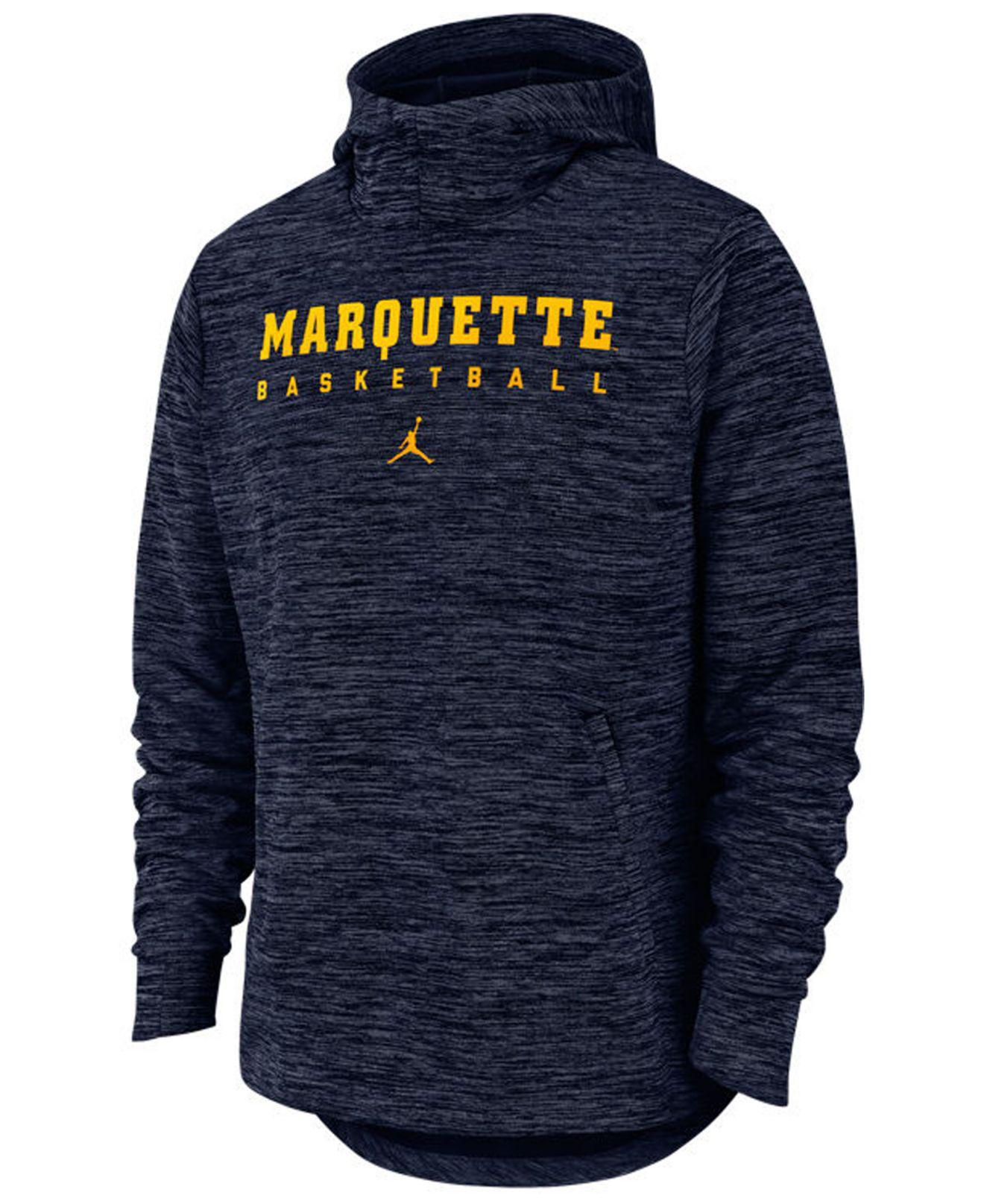 04954842d Lyst - Nike Marquette Golden Eagles Spotlight Pullover Hooded ...