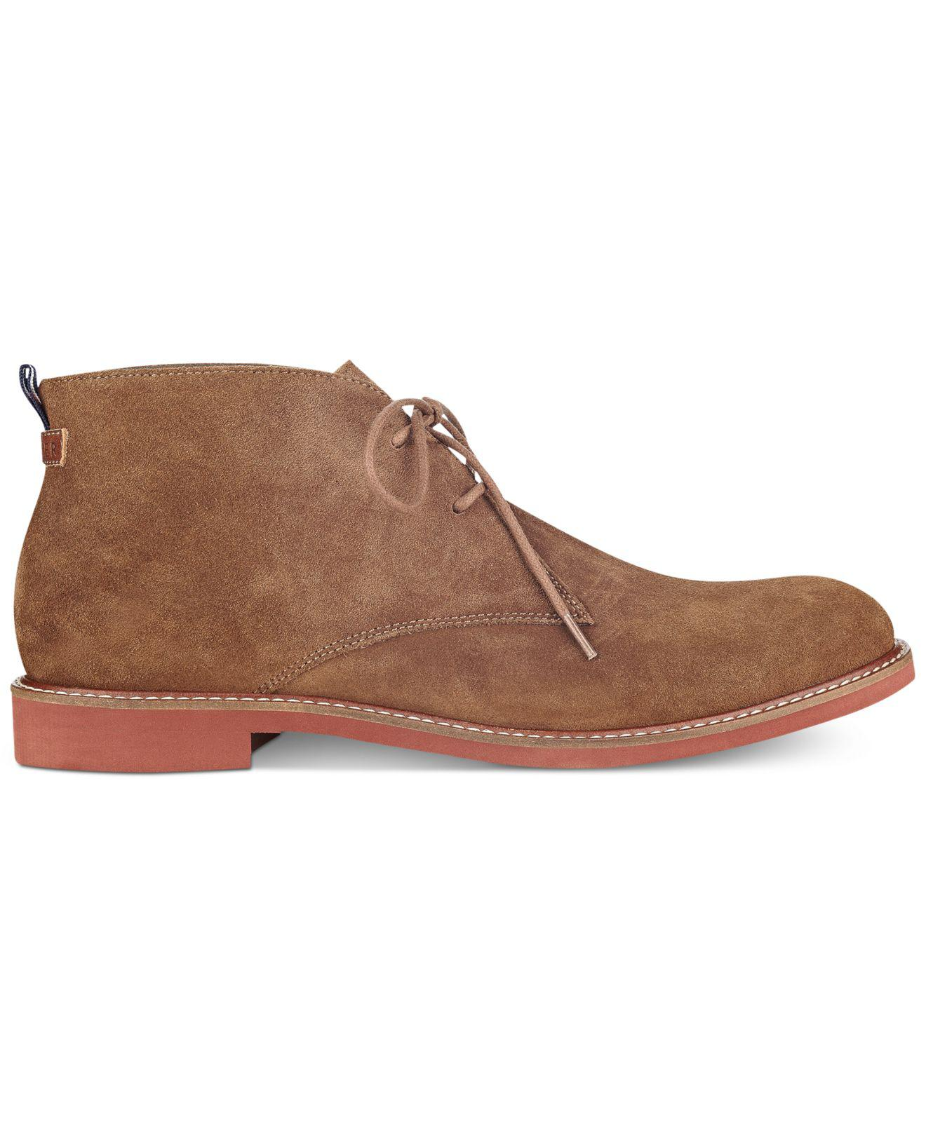 64dacab40d261e Lyst - Tommy Hilfiger Men s Gervis Chukka Boots in Brown for Men