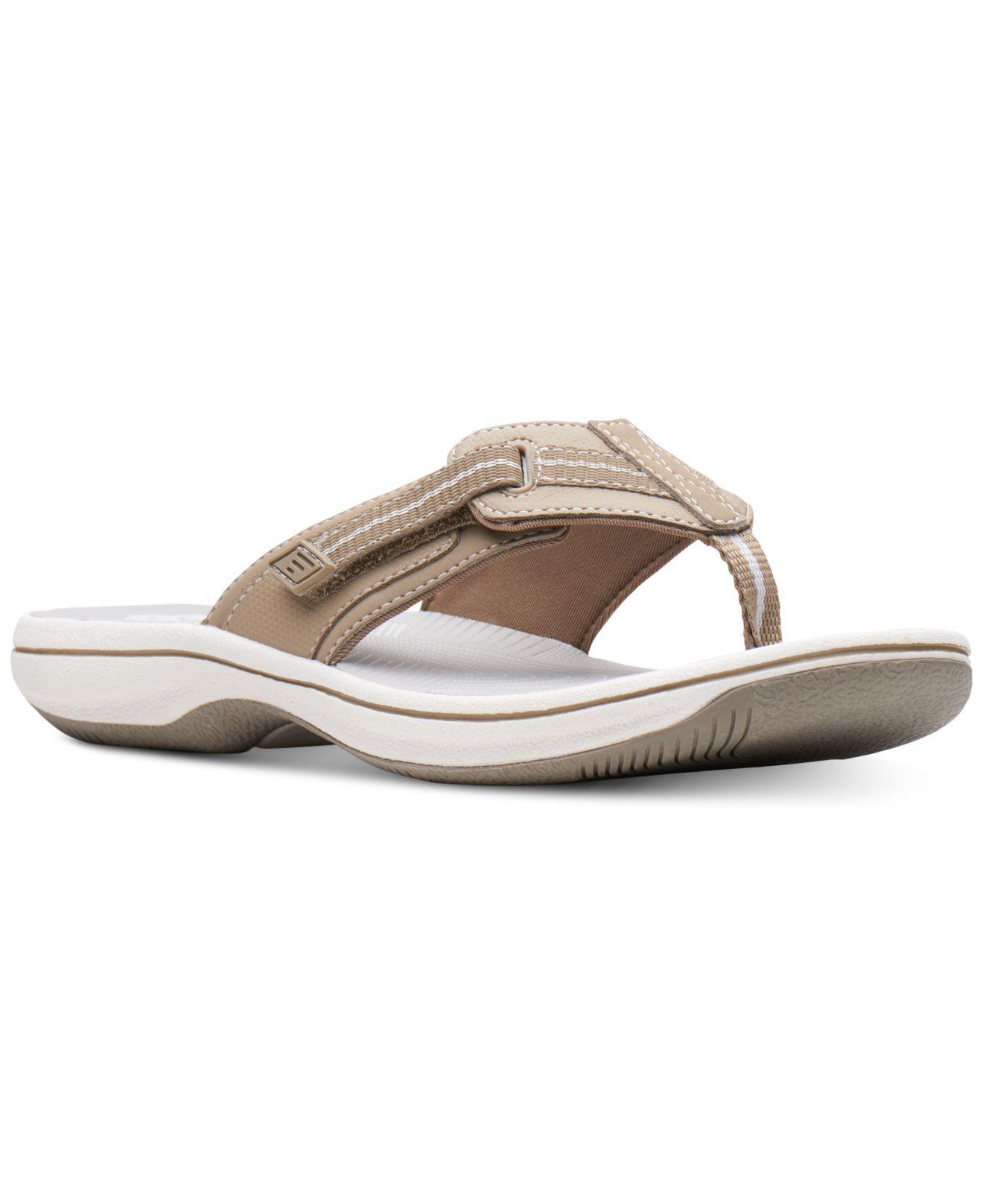 9c6e965d73b3da Lyst - Clarks Brinkley Jazz Flip-flops - Save 25%