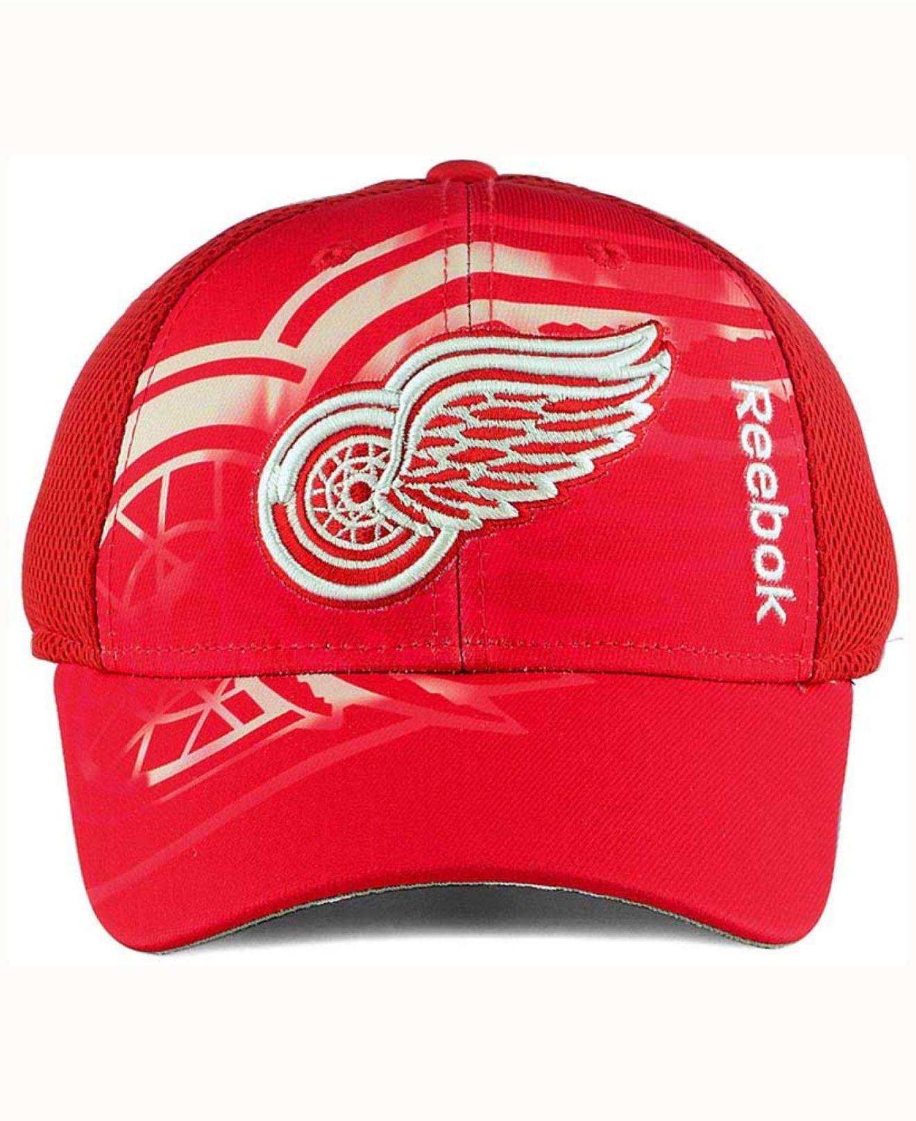 size 40 83235 d1367 ... discount lyst reebok 2nd season flex cap in red for men 44be8 be9f5