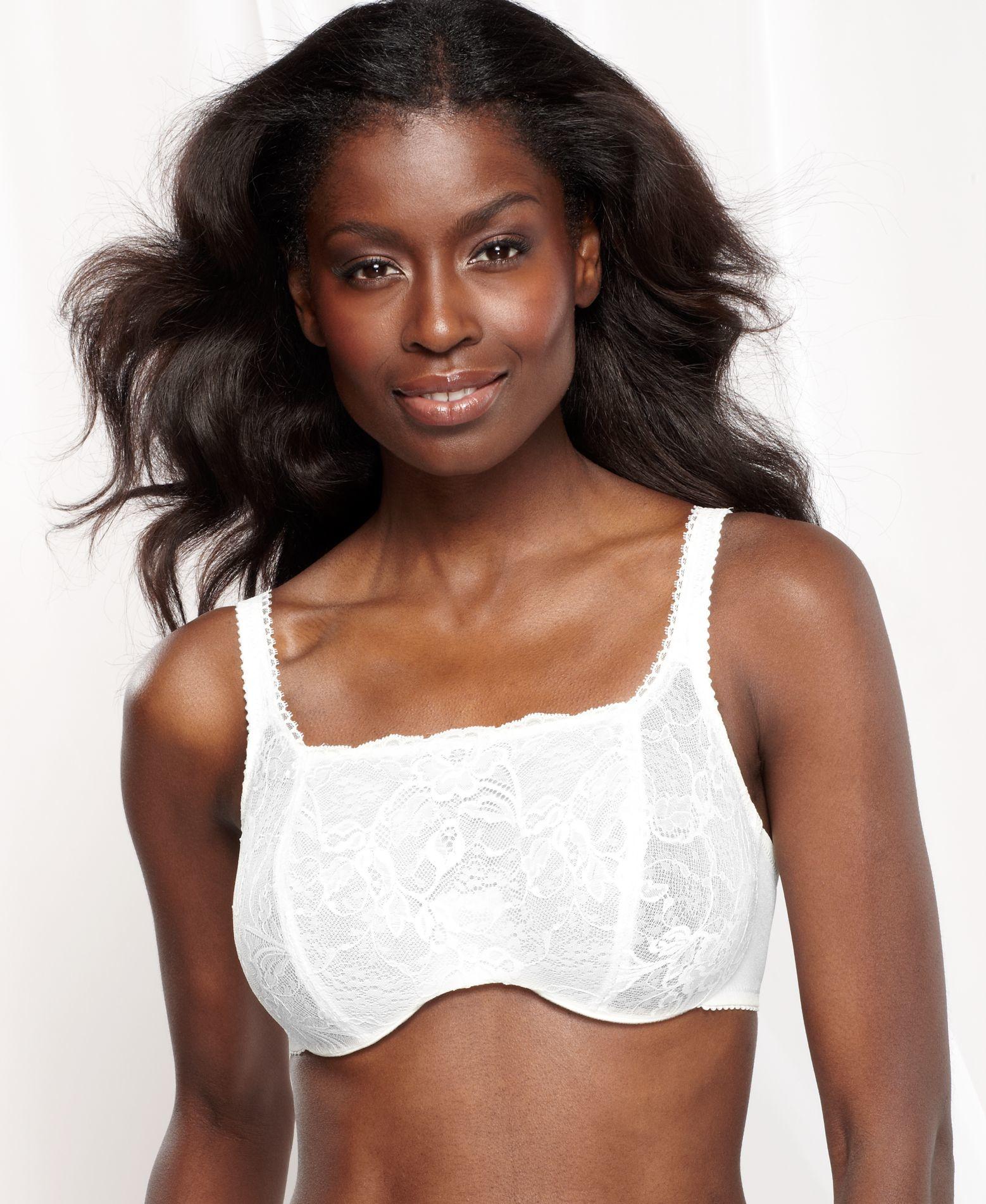 c51b012513641 Lyst - Lunaire Mayfair Cami Bra 18911 in White