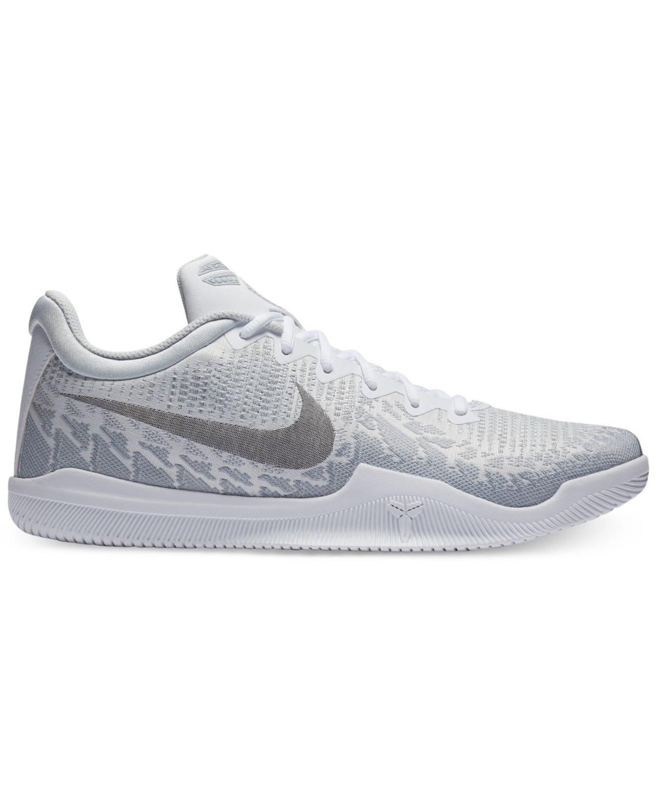 d9e126dc2ab Nike. Men s Gray Kobe Mamba Rage Basketball Sneakers From Finish Line ...