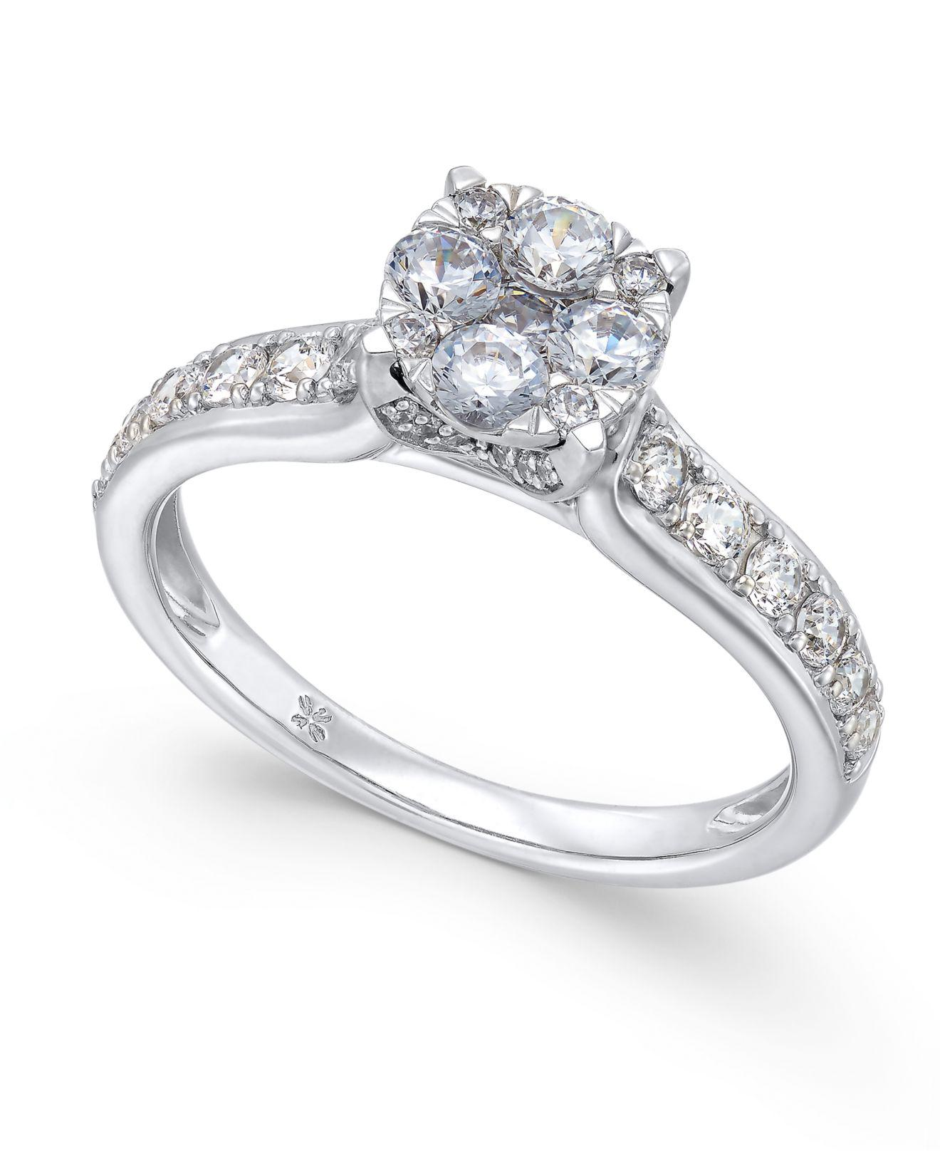 diamond under rings ring engagement in composite white promise gold