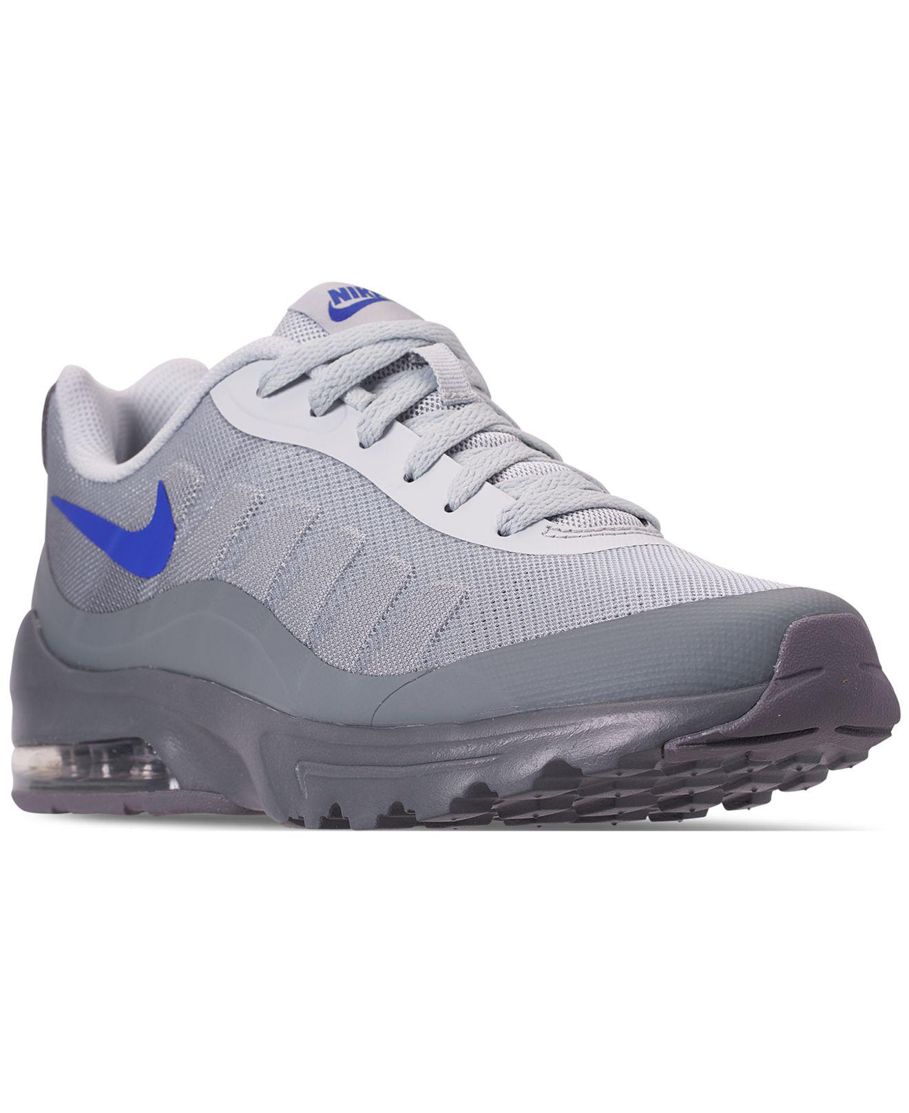 lowest price ed0f7 5d8aa Nike - Gray Air Max Invigor Print Running Sneakers From Finish Line for Men  - Lyst. View fullscreen