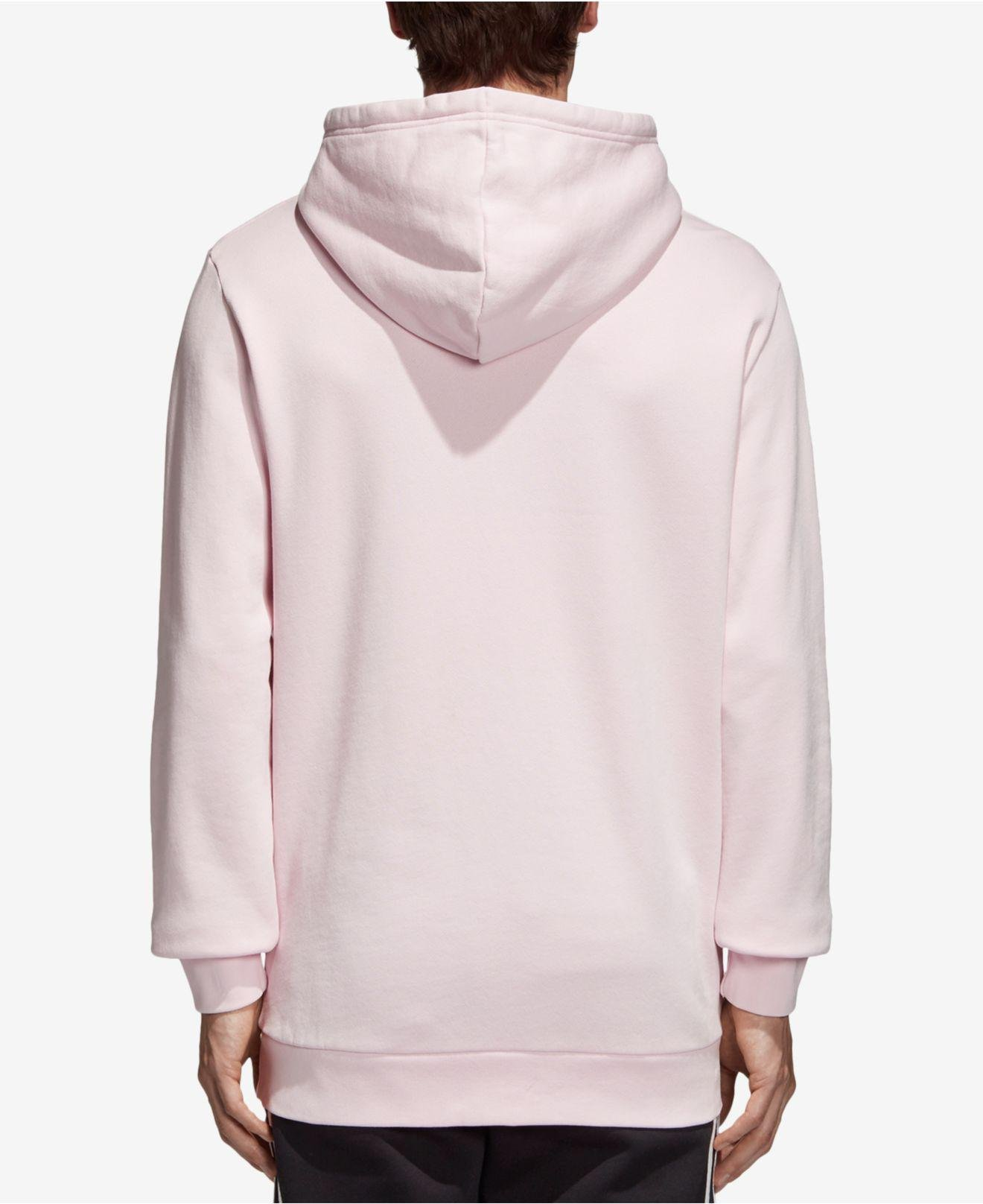 6d2bb39d9858 Lyst - Adidas Originals Trefoil Hoodie in Pink for Men